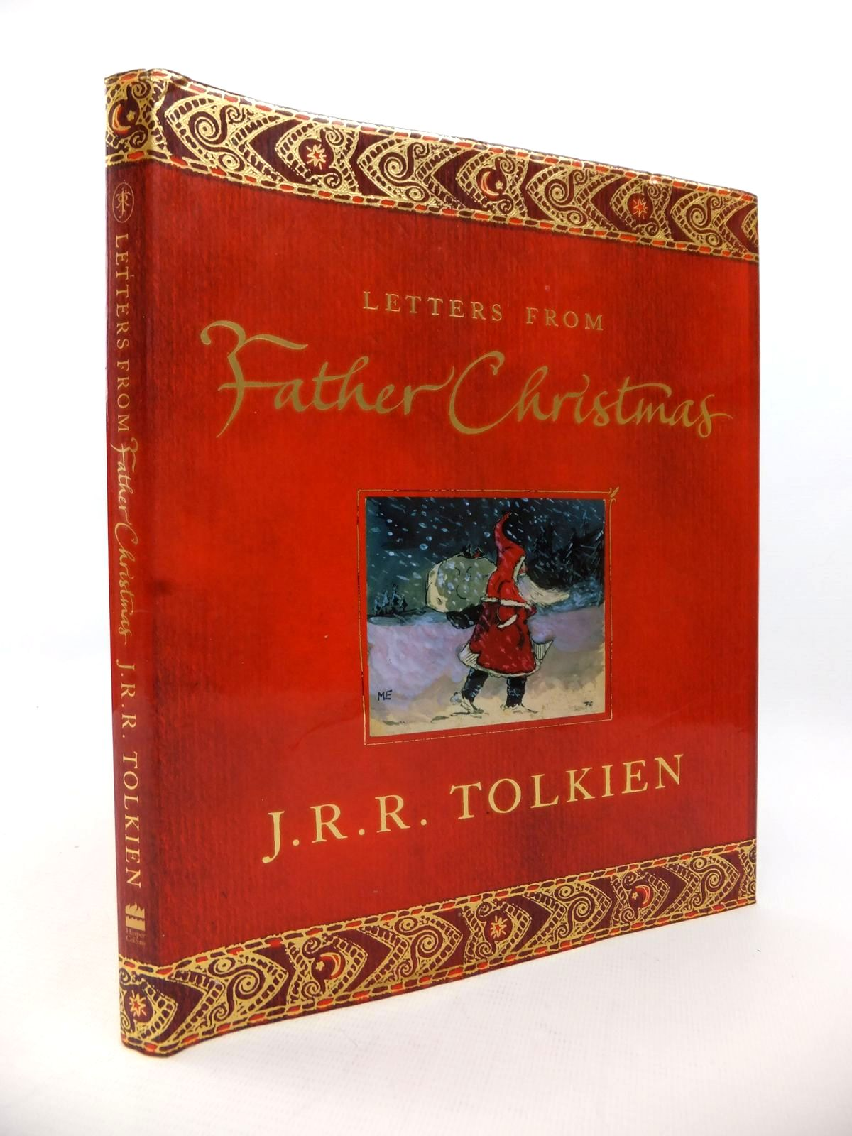 Photo of LETTERS FROM FATHER CHRISTMAS written by Tolkien, J.R.R.<br />Tolkien, Baillie illustrated by Tolkien, J.R.R. published by Harper Collins (STOCK CODE: 1813340)  for sale by Stella & Rose's Books