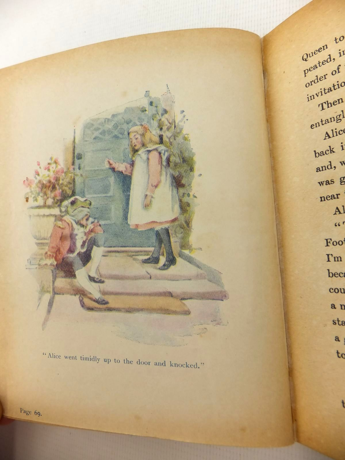 Photo of ALICE'S ADVENTURES IN WONDERLAND written by Carroll, Lewis illustrated by Ross, Alice published by W.P. Nimmo, Hay & Mitchell (STOCK CODE: 1813343)  for sale by Stella & Rose's Books