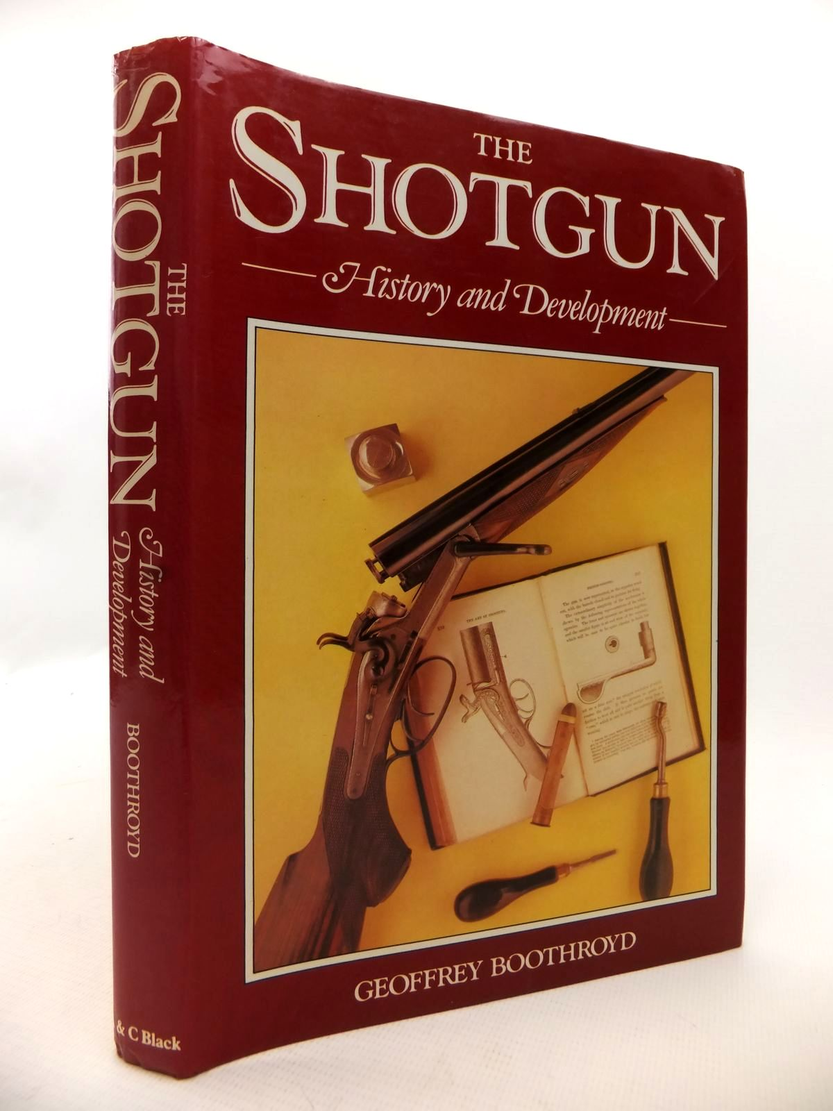 Photo of THE SHOTGUN: HISTORY AND DEVELOPMENT written by Boothroyd, Geoffrey published by A. & C. Black (STOCK CODE: 1813358)  for sale by Stella & Rose's Books