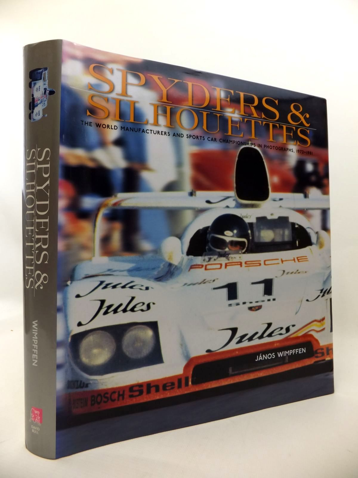 Photo of SPYDERS & SILHOUETTES: THE WORLD MANUFACTURERS AND SPORTS CAR CHAMPIONSHIPS IN PHOTOGRAPHS 1972-1981 written by Wimpffen, Janos published by David Bull Publishing (STOCK CODE: 1813390)  for sale by Stella & Rose's Books