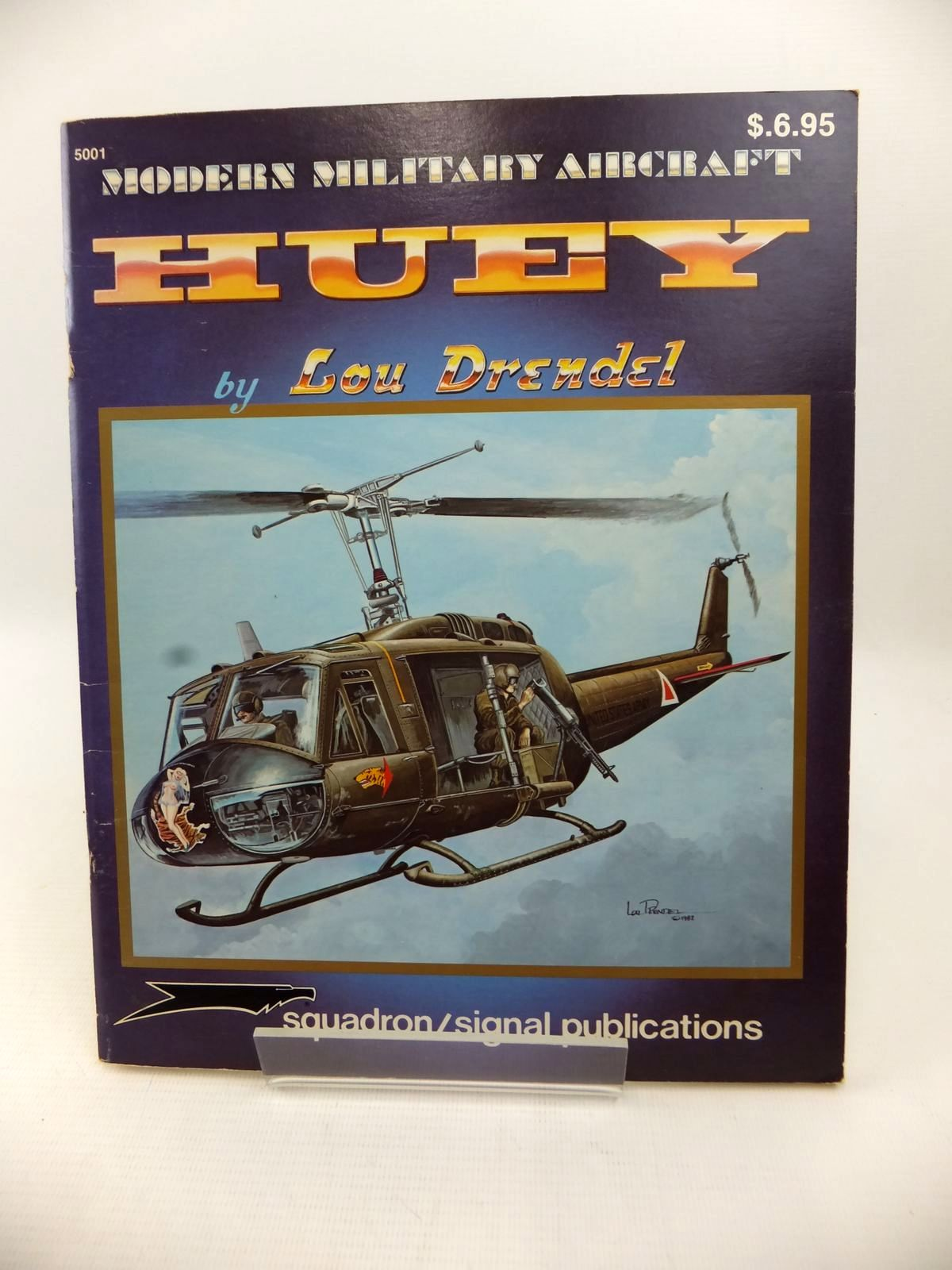 Photo of MODERN MILITARY AIRCRAFT: HUEY written by Drendel, Lou illustrated by Drendel, Lou published by Squadron Signal Publications (STOCK CODE: 1813413)  for sale by Stella & Rose's Books