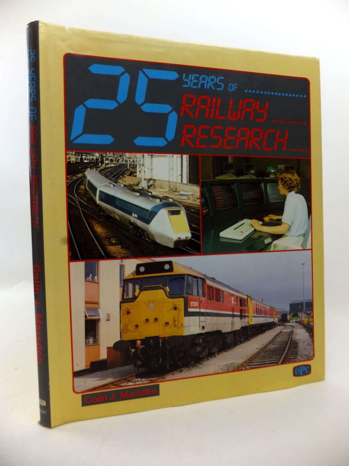 Photo of 25 YEARS OF RAILWAY RESEARCH written by Marsden, Colin J. published by Haynes, Oxford Publishing Co (STOCK CODE: 1813426)  for sale by Stella & Rose's Books