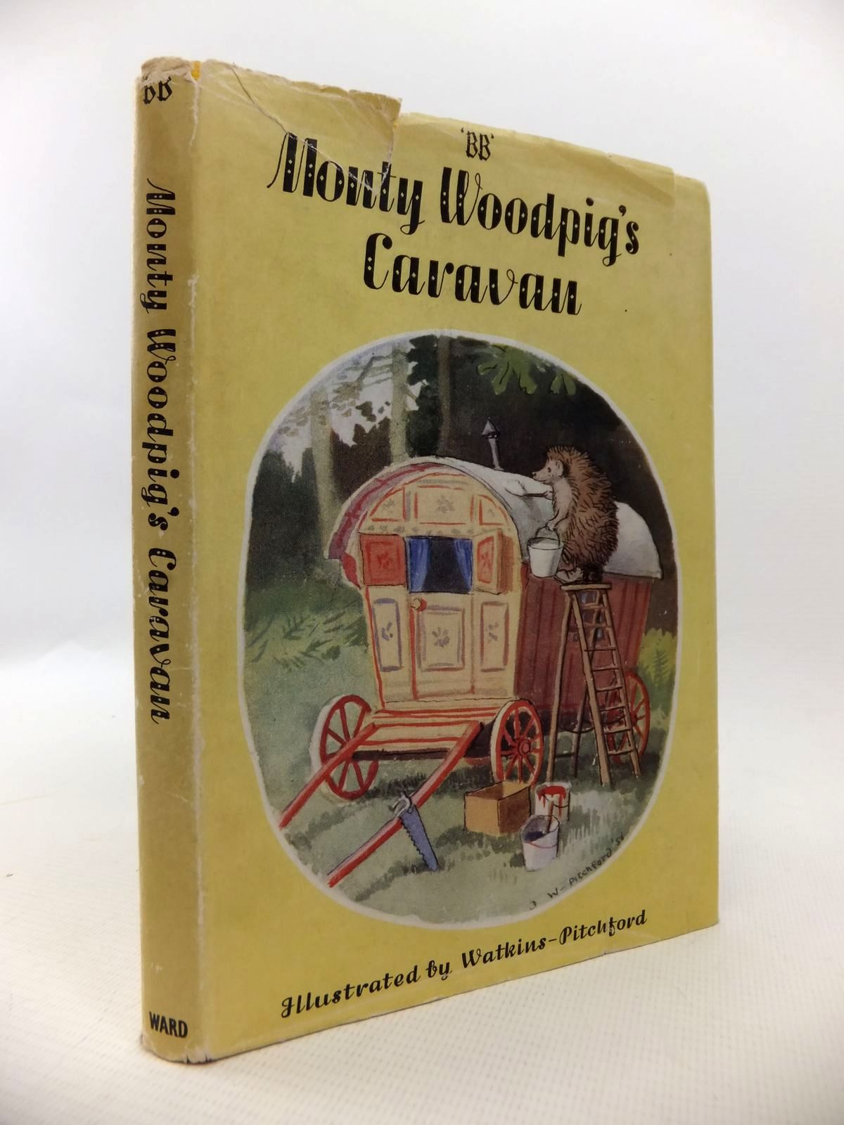 Photo of MONTY WOODPIG'S CARAVAN written by BB,  illustrated by BB,  published by Edmund Ward (STOCK CODE: 1813459)  for sale by Stella & Rose's Books