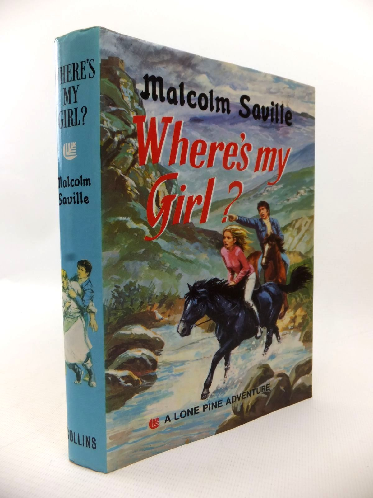 Photo of WHERE'S MY GIRL? written by Saville, Malcolm published by Collins (STOCK CODE: 1813465)  for sale by Stella & Rose's Books