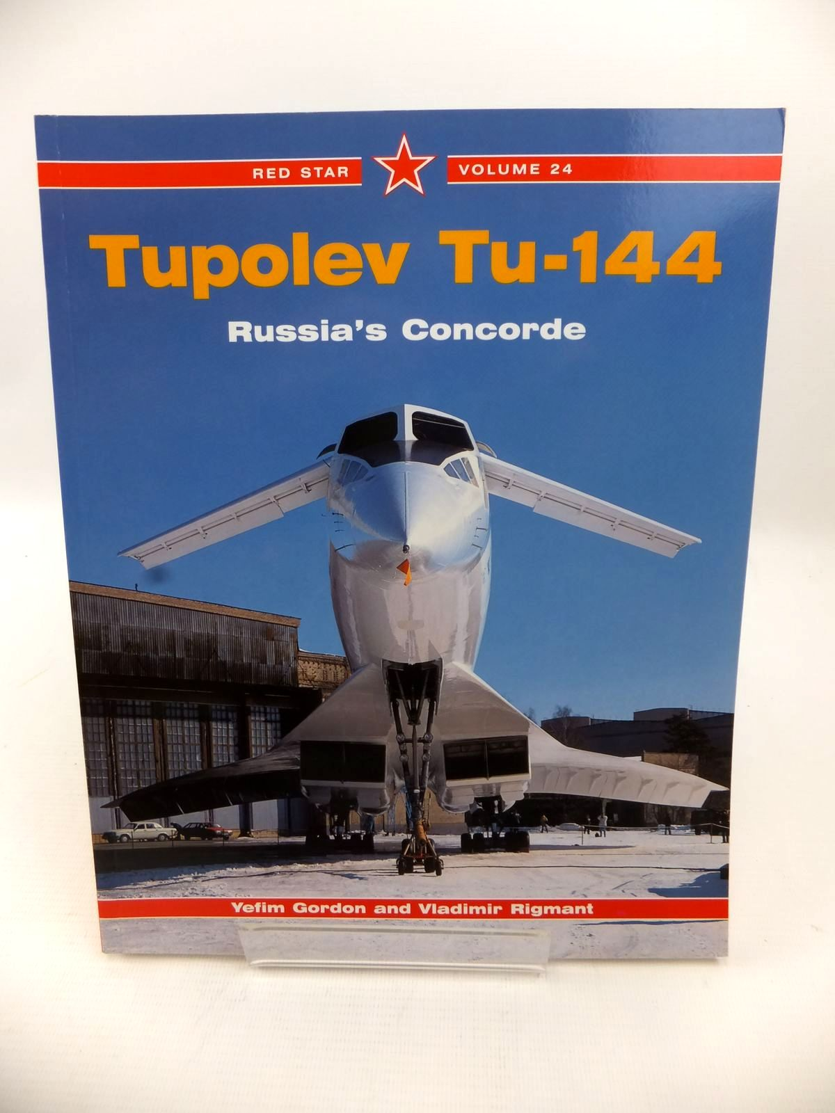 Photo of TUPOLEV TU-144 written by Gordon, Yefim<br />Rigmant, Vladimir published by Midland Publishing (STOCK CODE: 1813476)  for sale by Stella & Rose's Books