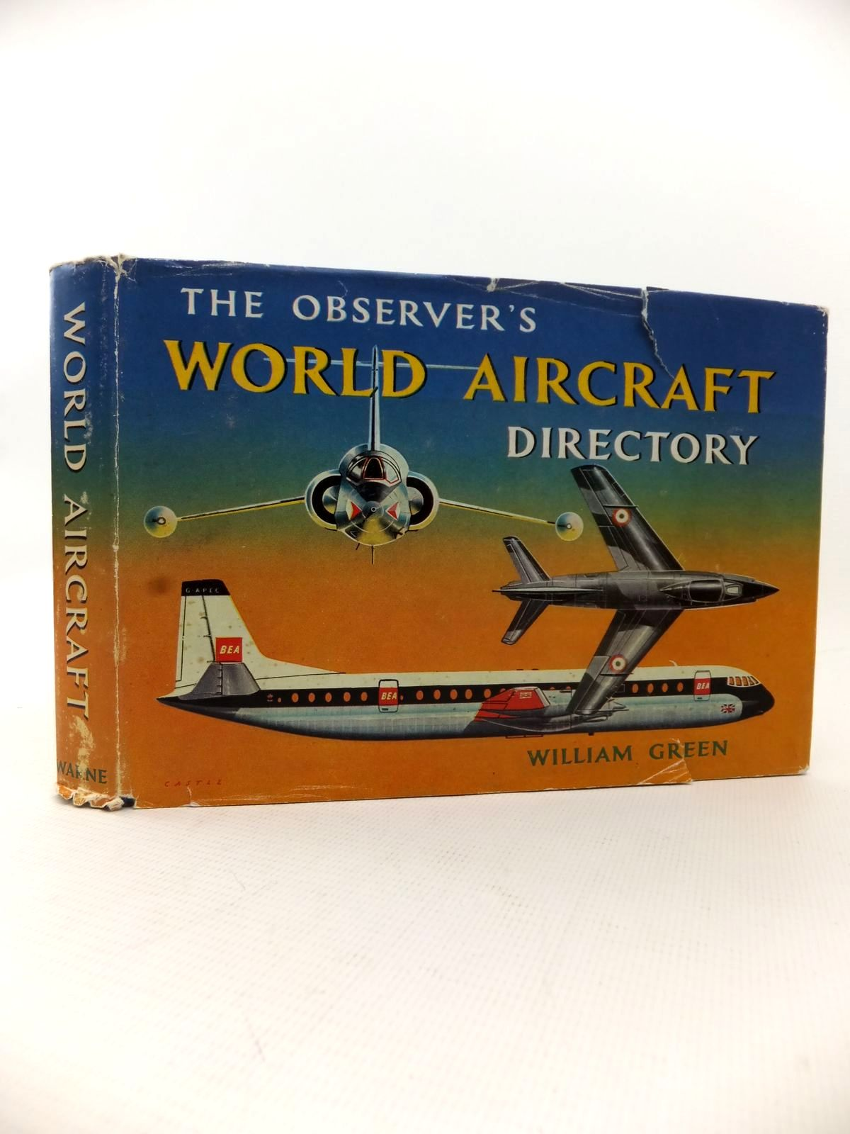 Photo of THE OBSERVER'S WORLD AIRCRAFT DIRECTORY written by Green, William published by Frederick Warne & Co Ltd. (STOCK CODE: 1813492)  for sale by Stella & Rose's Books