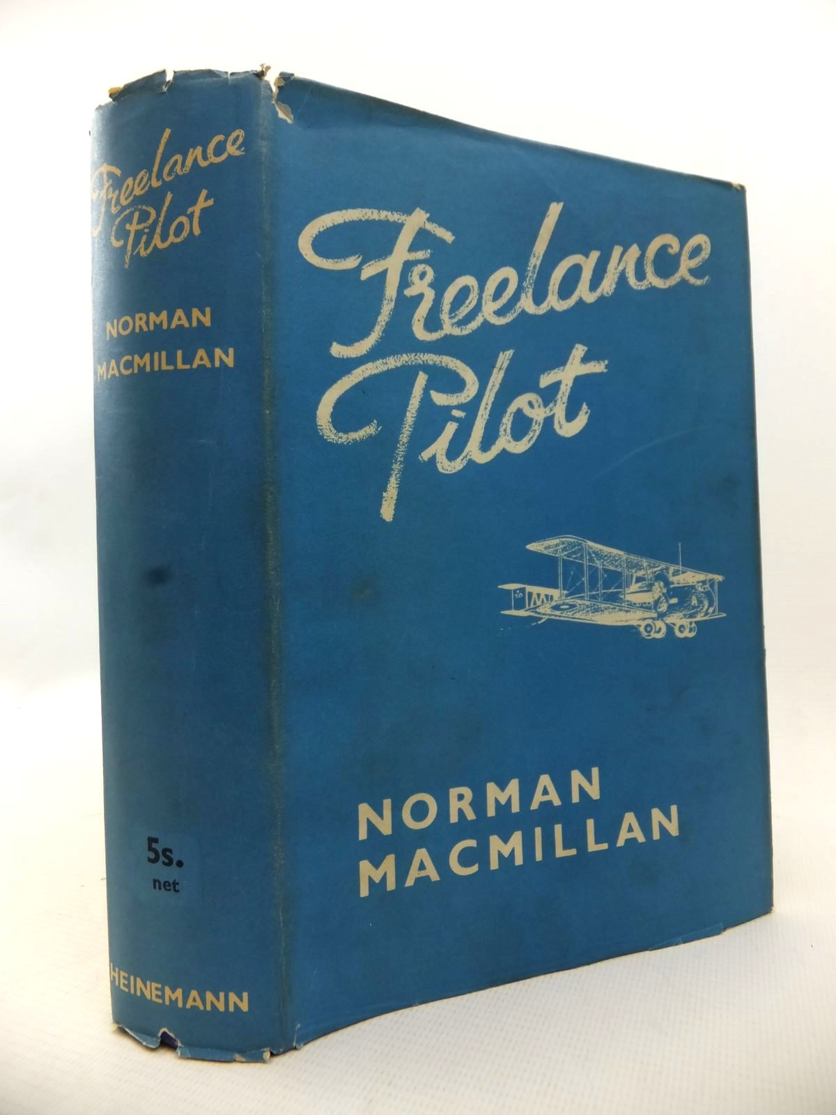 Photo of FREELANCE PILOT written by MacMillan, Norman published by William Heinemann Ltd. (STOCK CODE: 1813496)  for sale by Stella & Rose's Books