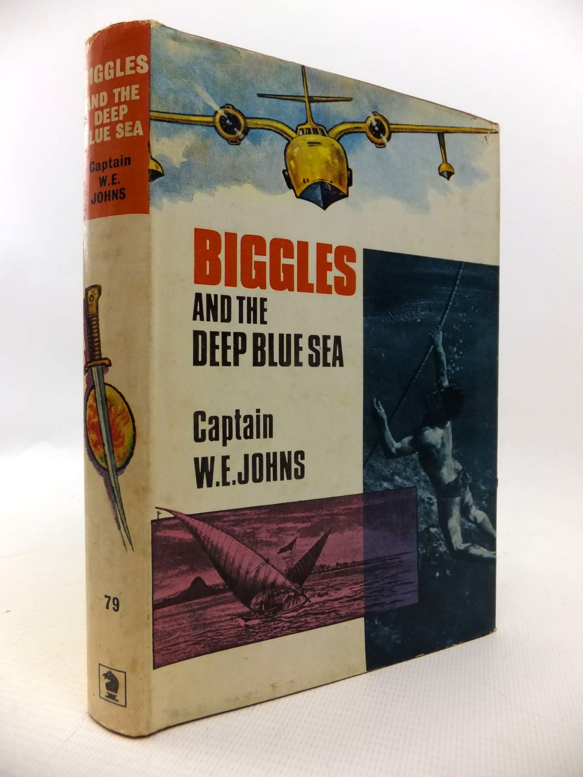 Photo of BIGGLES AND THE DEEP BLUE SEA written by Johns, W.E. published by Brockhampton Press (STOCK CODE: 1813541)  for sale by Stella & Rose's Books