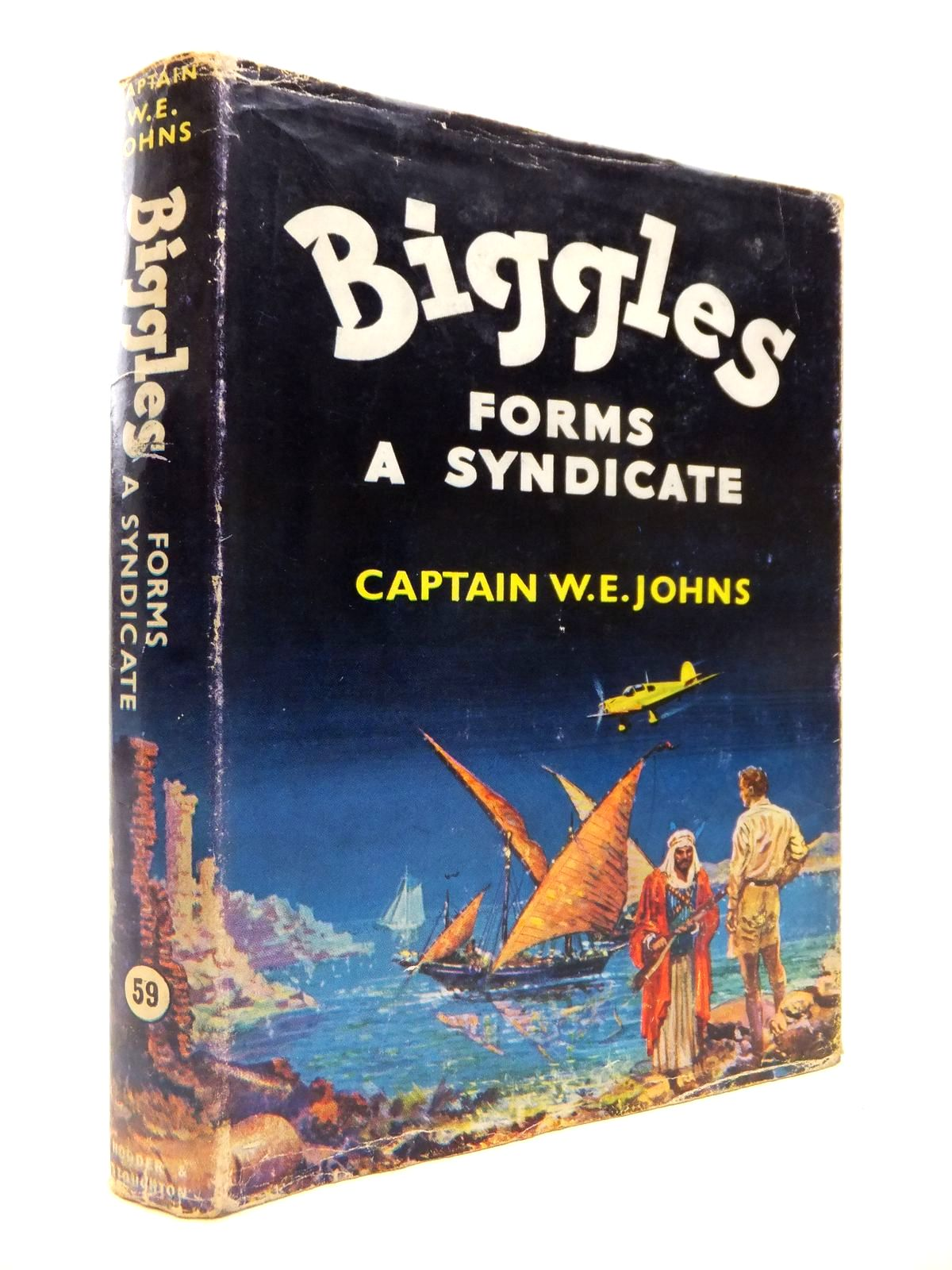 Photo of BIGGLES FORMS A SYNDICATE written by Johns, W.E. illustrated by Stead,  published by Hodder & Stoughton (STOCK CODE: 1813548)  for sale by Stella & Rose's Books