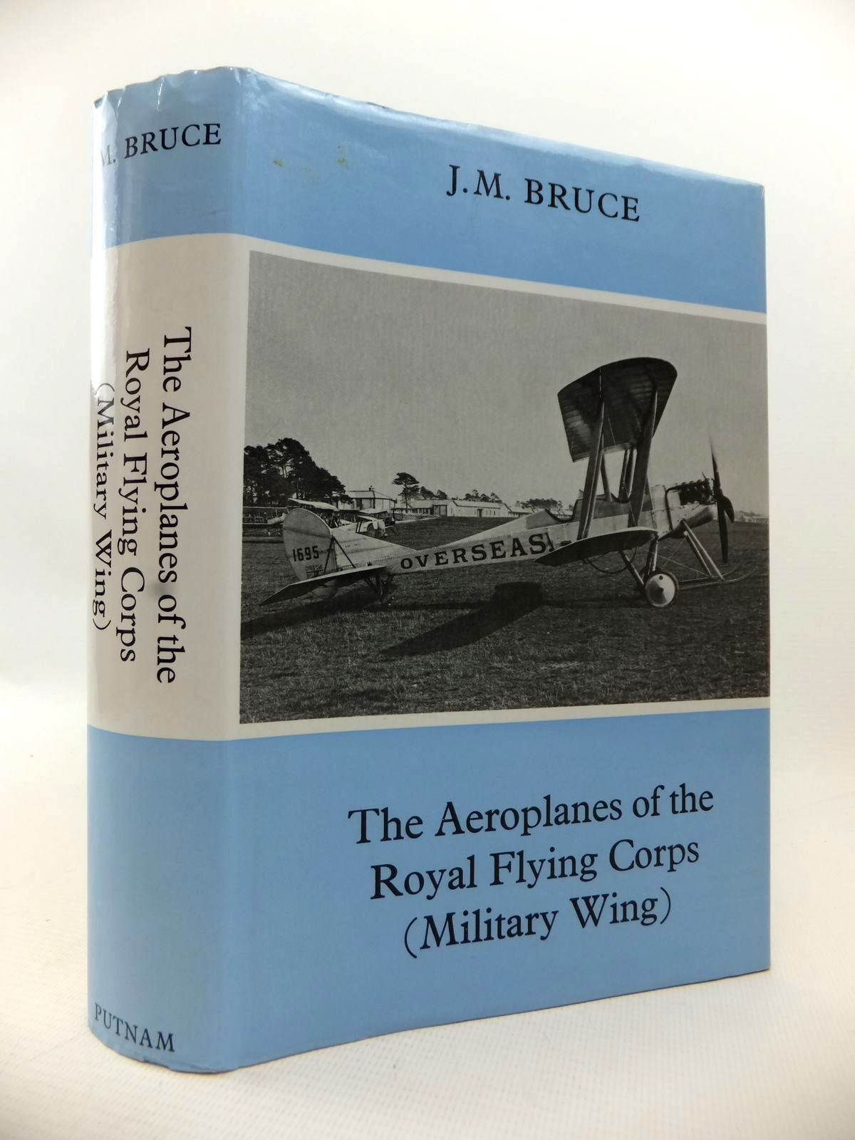 Photo of THE AEROPLANES OF THE ROYAL FLYING CORPS (MILITARY WING) written by Bruce, J.M. published by Putnam (STOCK CODE: 1813588)  for sale by Stella & Rose's Books