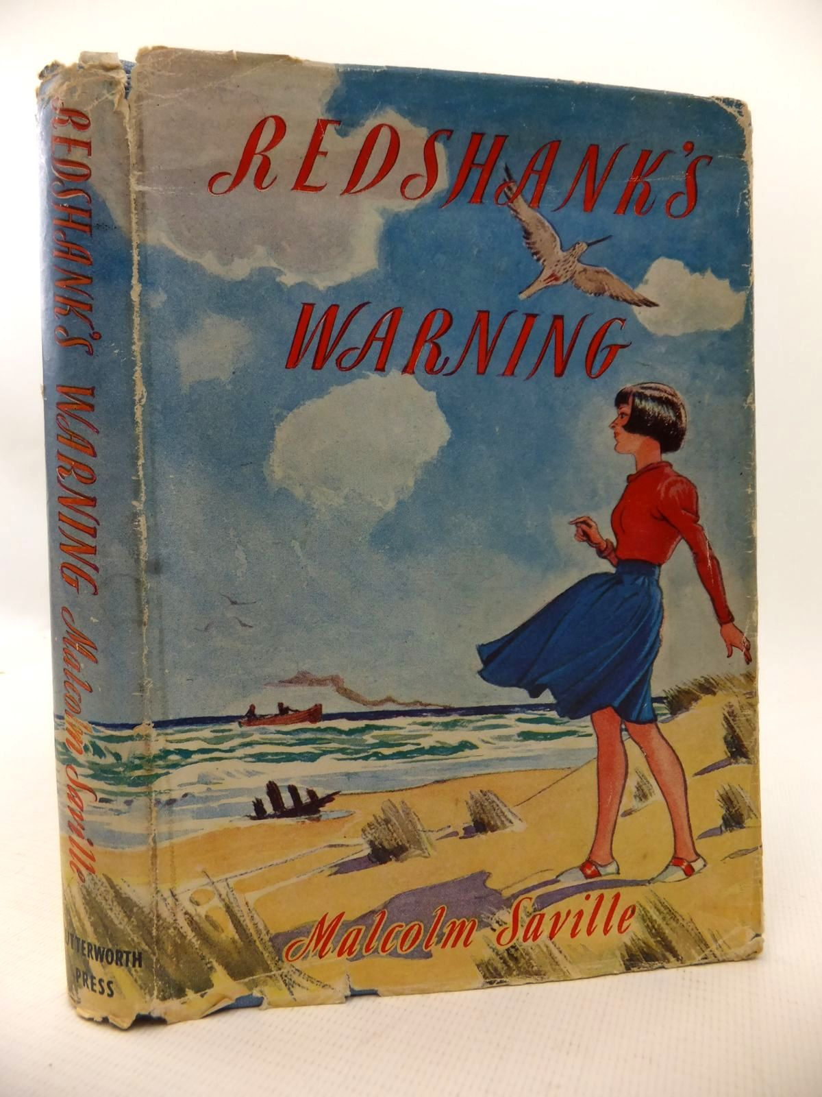 Photo of REDSHANK'S WARNING written by Saville, Malcolm illustrated by Roberts, Lunt published by Lutterworth Press (STOCK CODE: 1813594)  for sale by Stella & Rose's Books
