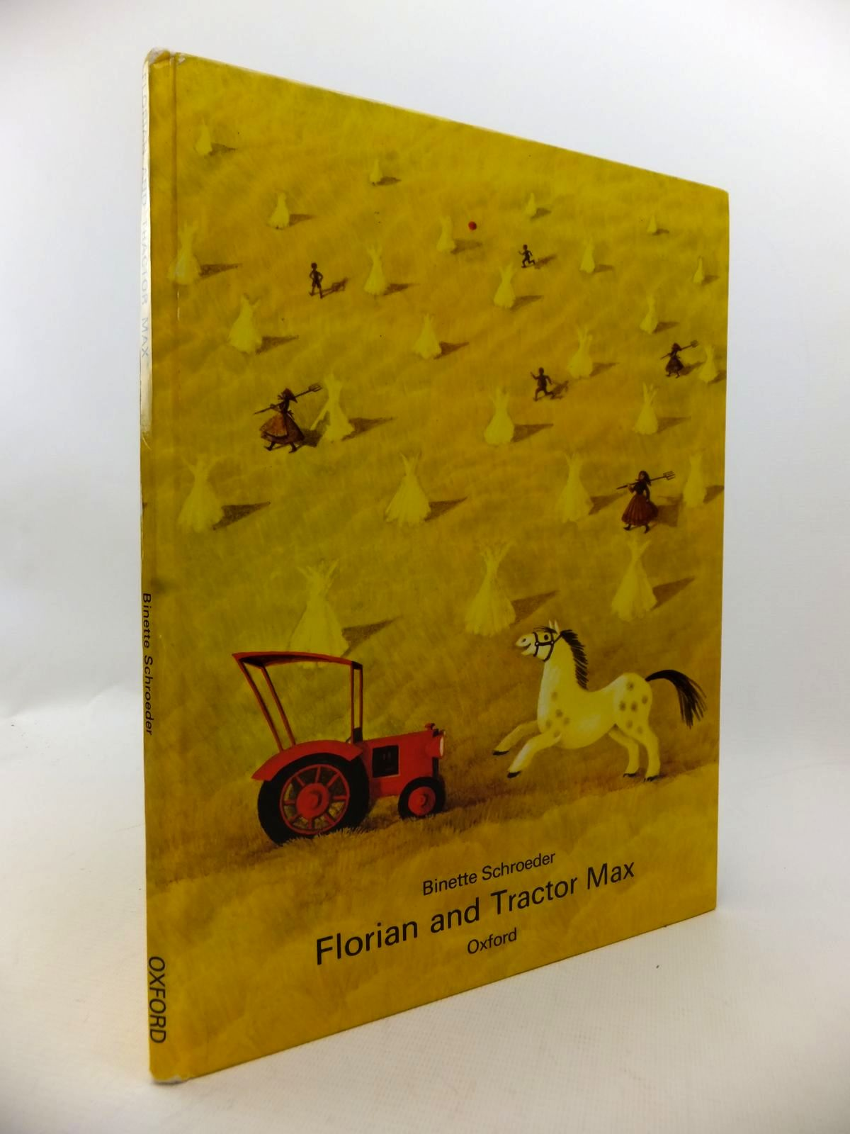 Photo of FLORIAN AND TRACTOR MAX written by Schroeder, Binette illustrated by Schroeder, Binette published by Oxford University Press (STOCK CODE: 1813614)  for sale by Stella & Rose's Books