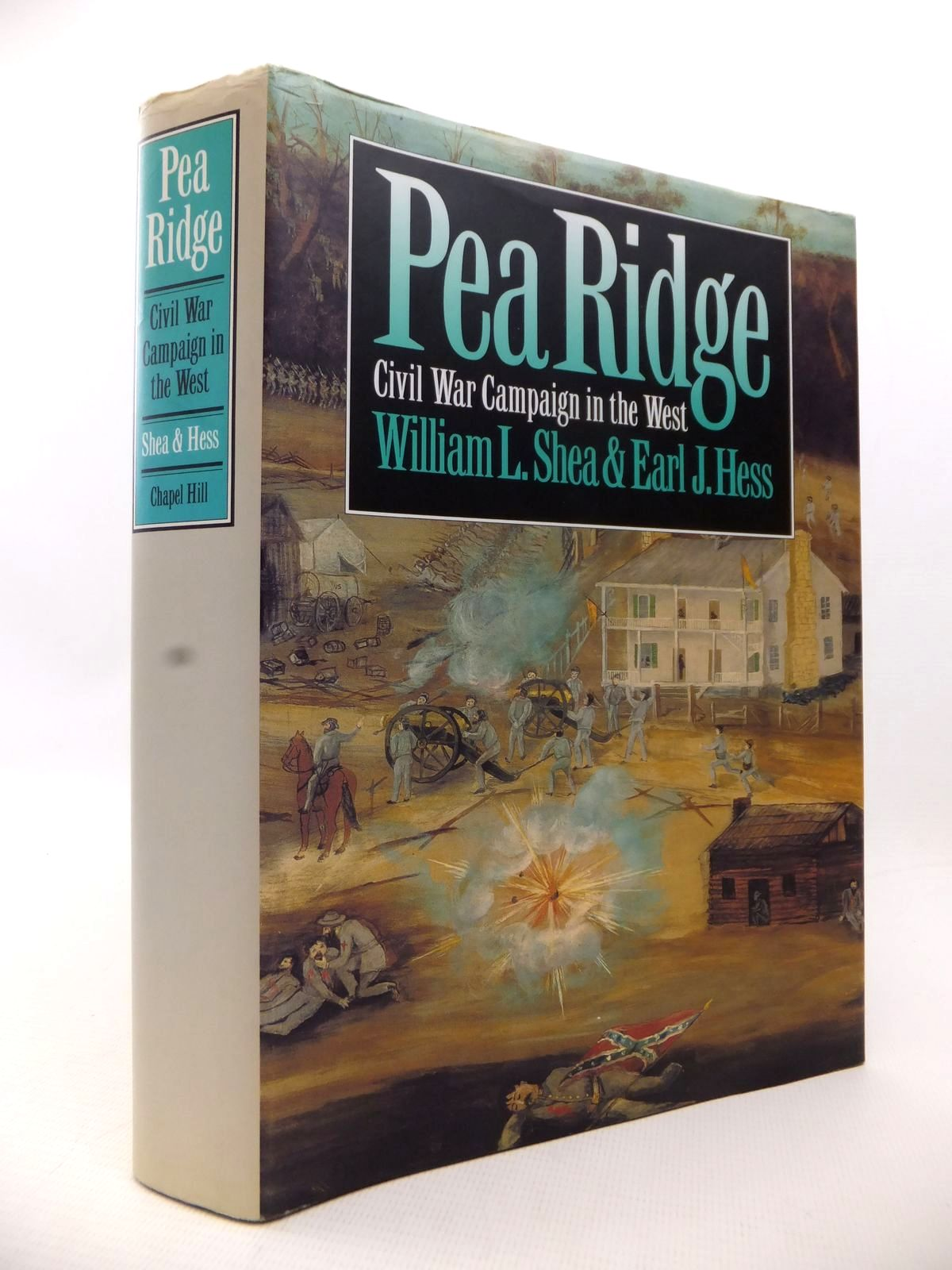 Photo of PEA RIDGE: CIVIL WAR CAMPAIGN IN THE WEST written by Shea, William L.<br />Hess, Earl J. published by University Of North Carolina Press, Chapel Hill (STOCK CODE: 1813627)  for sale by Stella & Rose's Books
