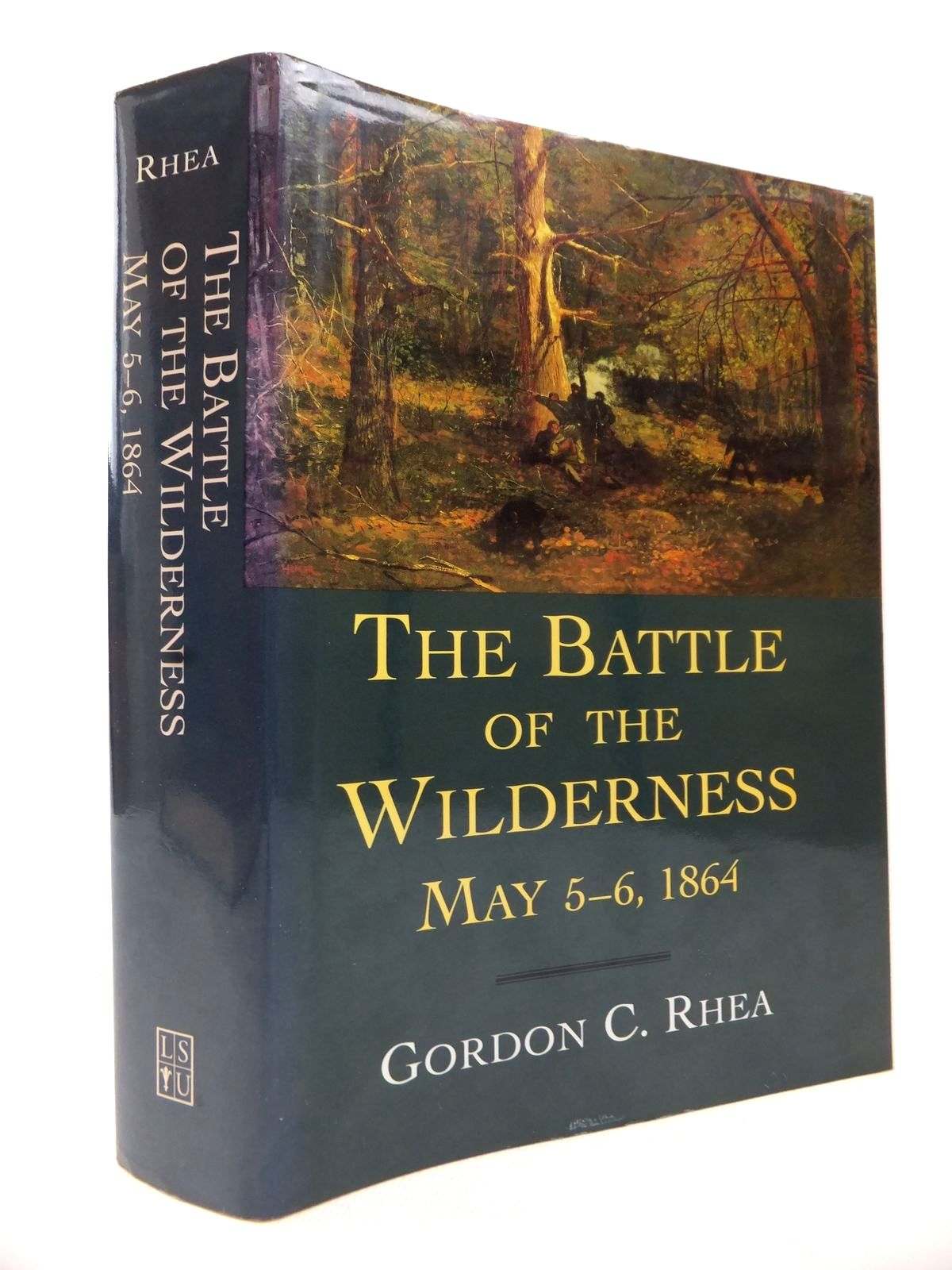 Photo of THE BATTLE OF THE WILDERNESS: MAY 5-6 1864 written by Rhea, Gordon C. published by Louisiana State University Press (STOCK CODE: 1813633)  for sale by Stella & Rose's Books