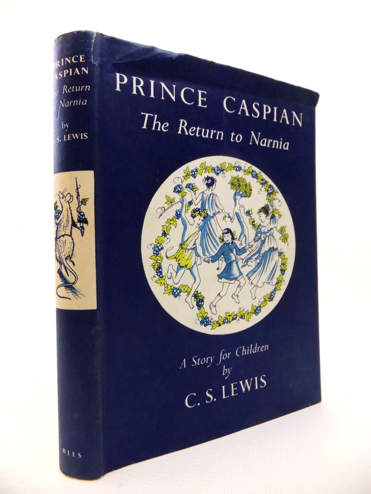 Photo of PRINCE CASPIAN written by Lewis, C.S. illustrated by Baynes, Pauline published by Geoffrey Bles Ltd. (STOCK CODE: 1813646)  for sale by Stella & Rose's Books