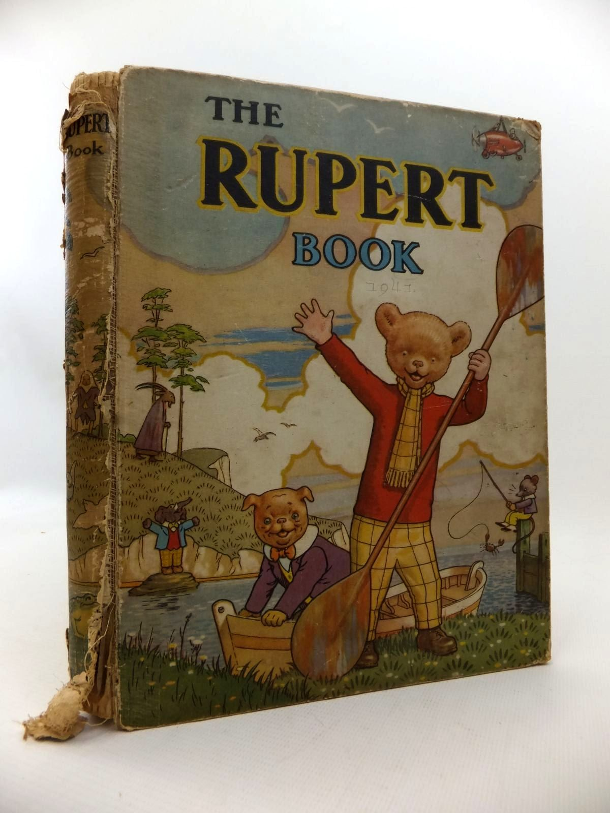 Photo of RUPERT ANNUAL 1941 - THE RUPERT BOOK written by Bestall, Alfred illustrated by Bestall, Alfred published by Daily Express (STOCK CODE: 1813648)  for sale by Stella & Rose's Books