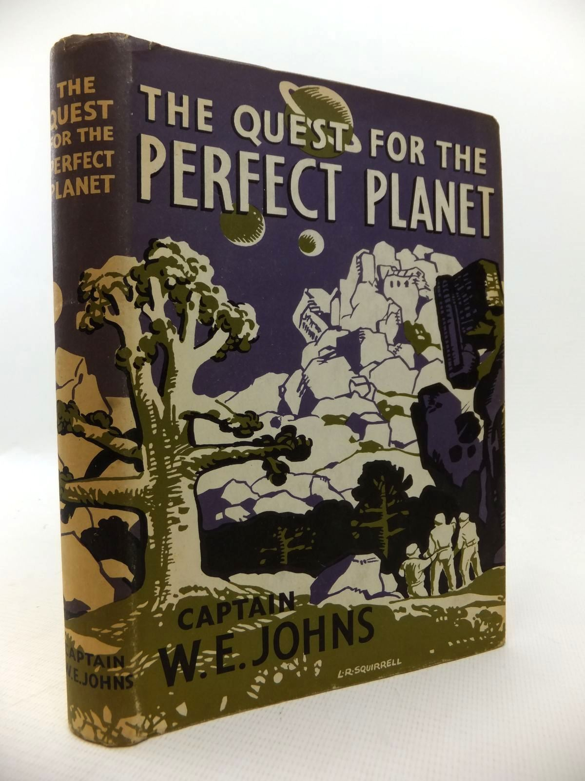 Photo of THE QUEST FOR THE PERFECT PLANET written by Johns, W.E. published by The Children's Book Club (STOCK CODE: 1813654)  for sale by Stella & Rose's Books