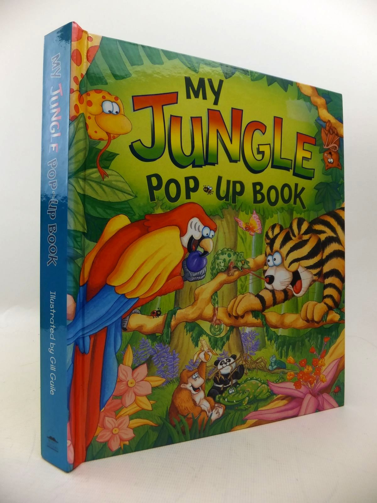 Photo of MY JUNGLE POP-UP BOOK written by Davies, Gill illustrated by Guile, Gill published by Selectabook Ltd. (STOCK CODE: 1813666)  for sale by Stella & Rose's Books