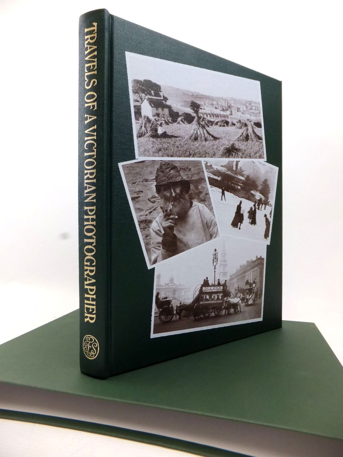 Photo of TRAVELS OF A VICTORIAN PHOTOGRAPHER written by Hudson, Roger illustrated by Frith, Francis published by Folio Society (STOCK CODE: 1813697)  for sale by Stella & Rose's Books