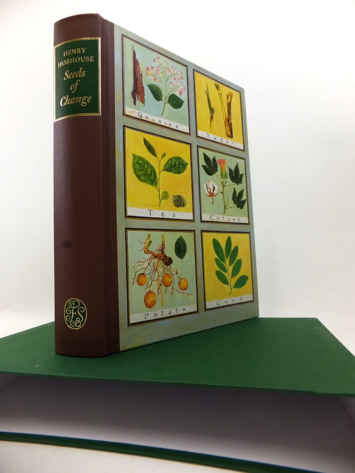 Photo of SEEDS OF CHANGE written by Hobhouse, Henry published by Folio Society (STOCK CODE: 1813703)  for sale by Stella & Rose's Books
