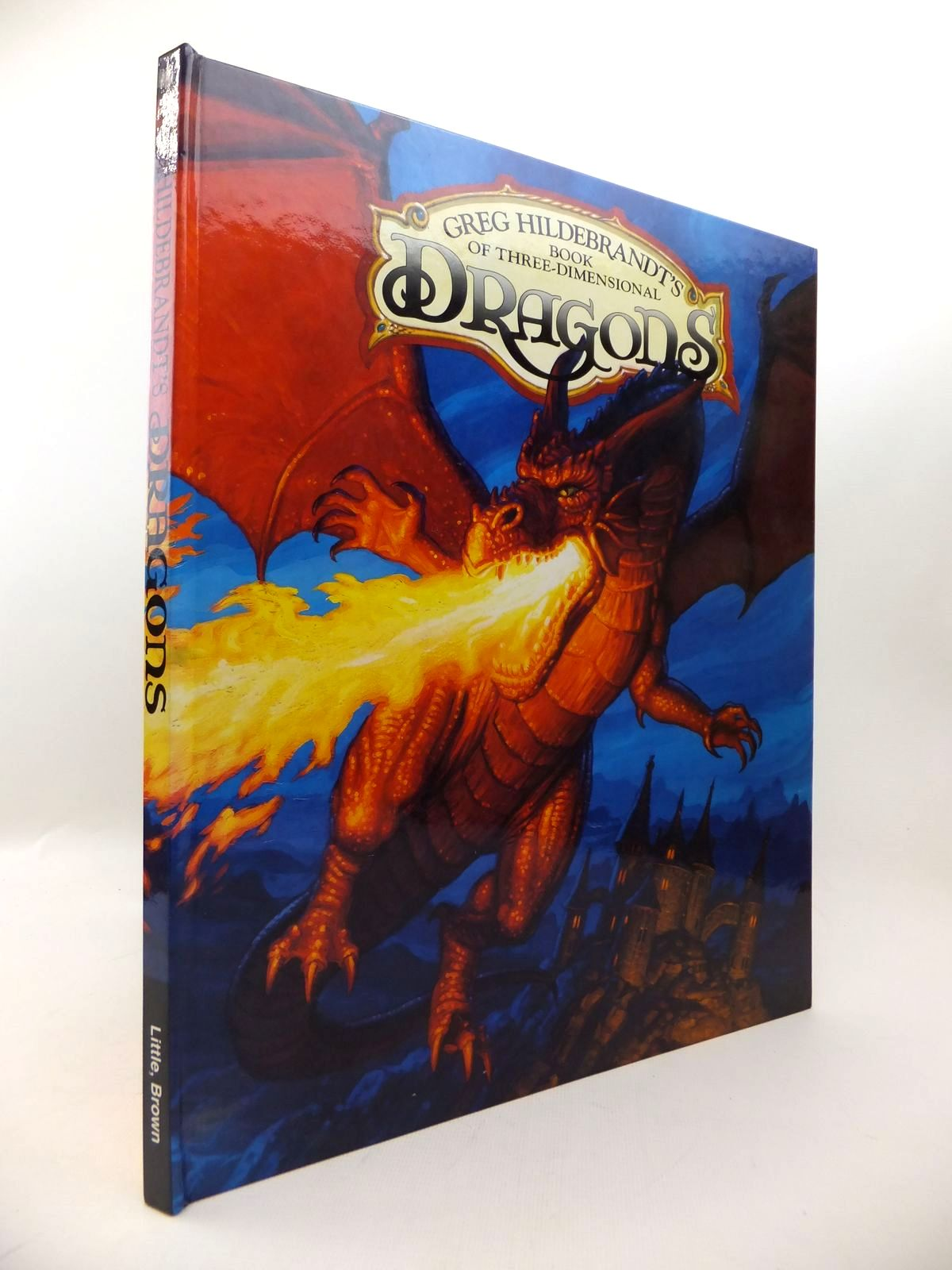 Photo of GREG HILDEBRANDT'S BOOK OF THREE-DIMENSIONAL DRAGONS written by Peterson, Gail illustrated by Hildebrandt, Greg published by Little Brown (STOCK CODE: 1813761)  for sale by Stella & Rose's Books