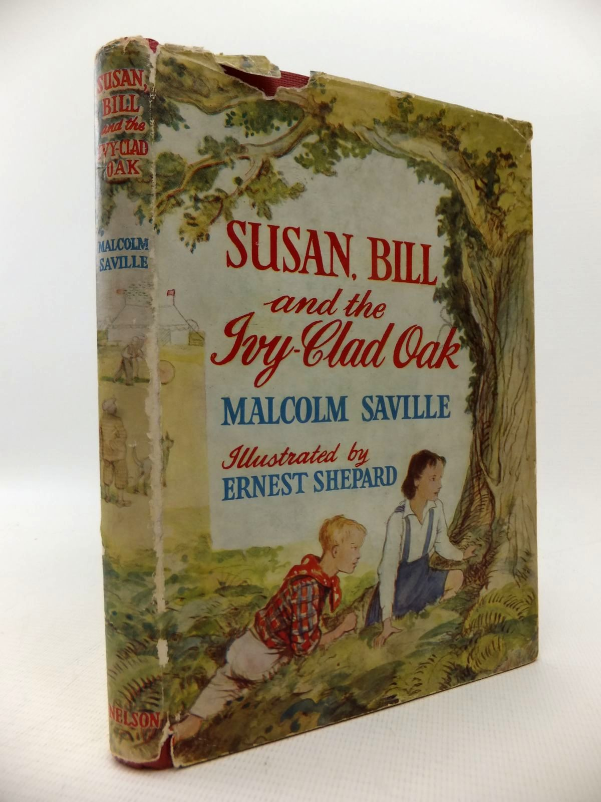 Photo of SUSAN, BILL AND THE IVY-CLAD OAK written by Saville, Malcolm illustrated by Shepard, E.H. published by Thomas Nelson (STOCK CODE: 1813767)  for sale by Stella & Rose's Books