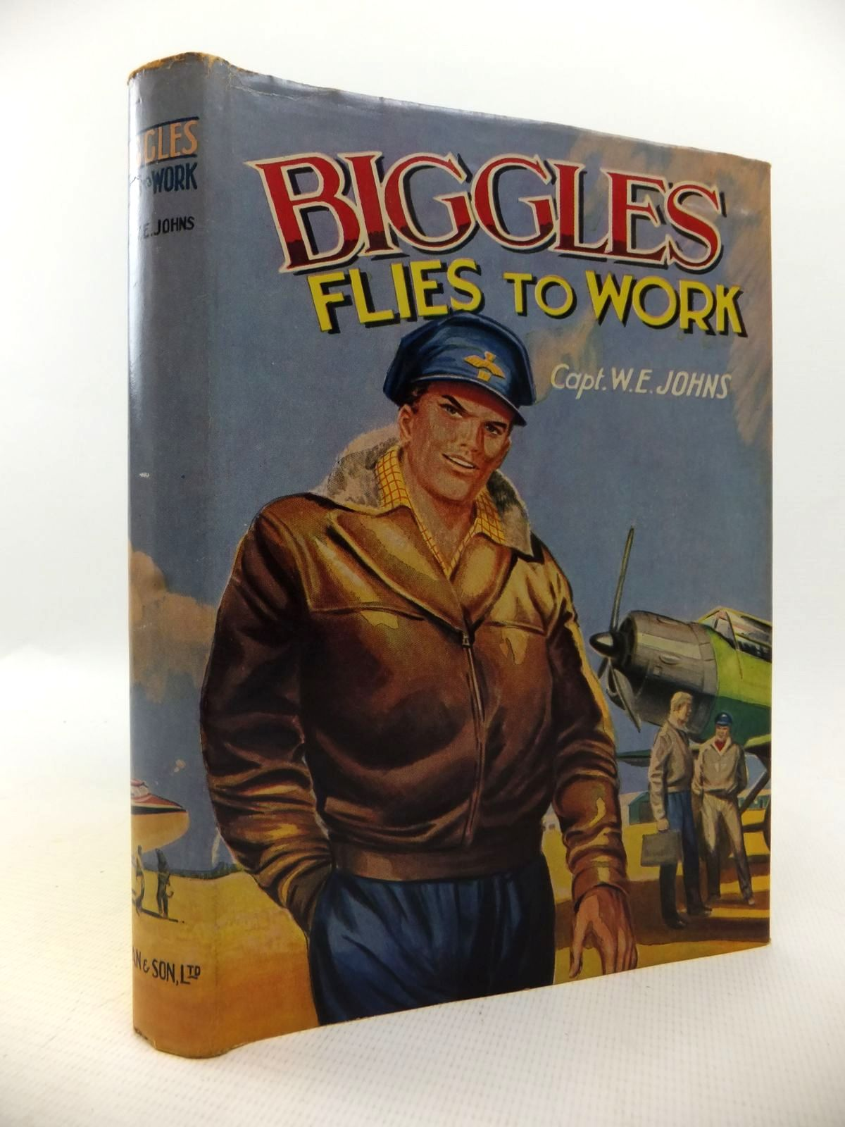 Photo of BIGGLES FLIES TO WORK written by Johns, W.E. published by Dean & Son Ltd. (STOCK CODE: 1813776)  for sale by Stella & Rose's Books