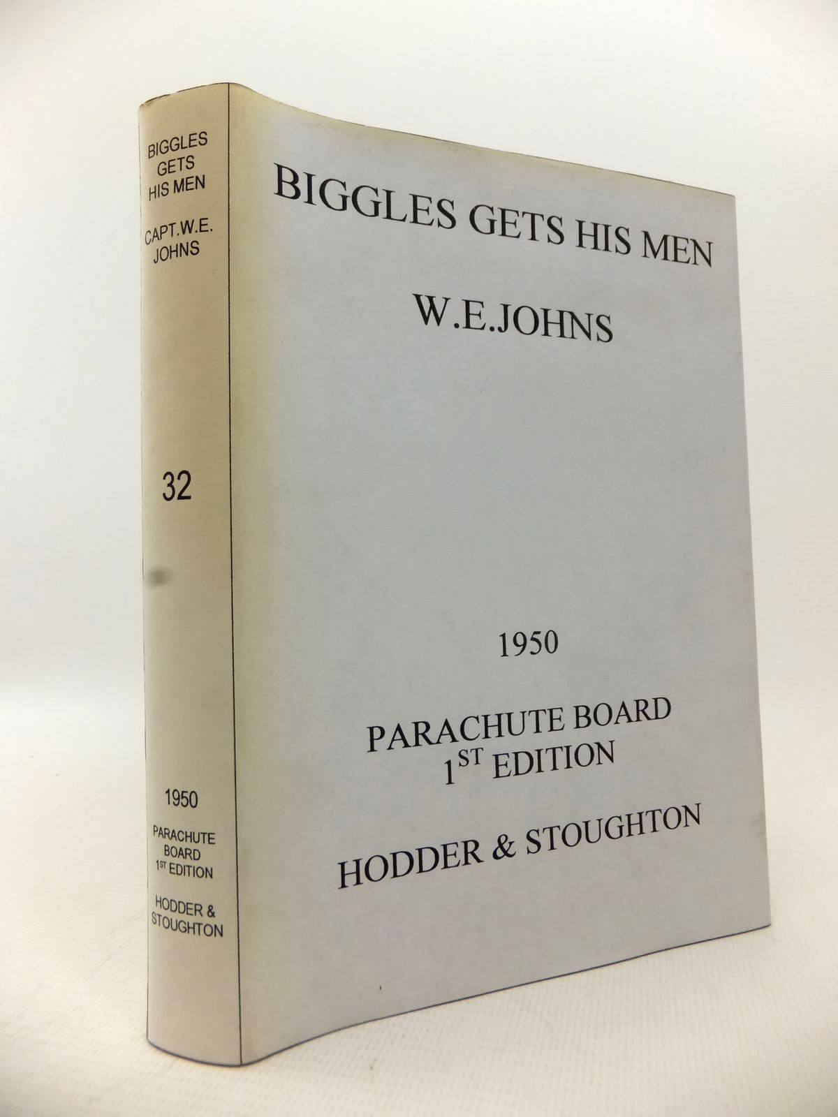 Photo of BIGGLES GETS HIS MEN written by Johns, W.E. illustrated by Stead,  published by Hodder & Stoughton (STOCK CODE: 1813783)  for sale by Stella & Rose's Books