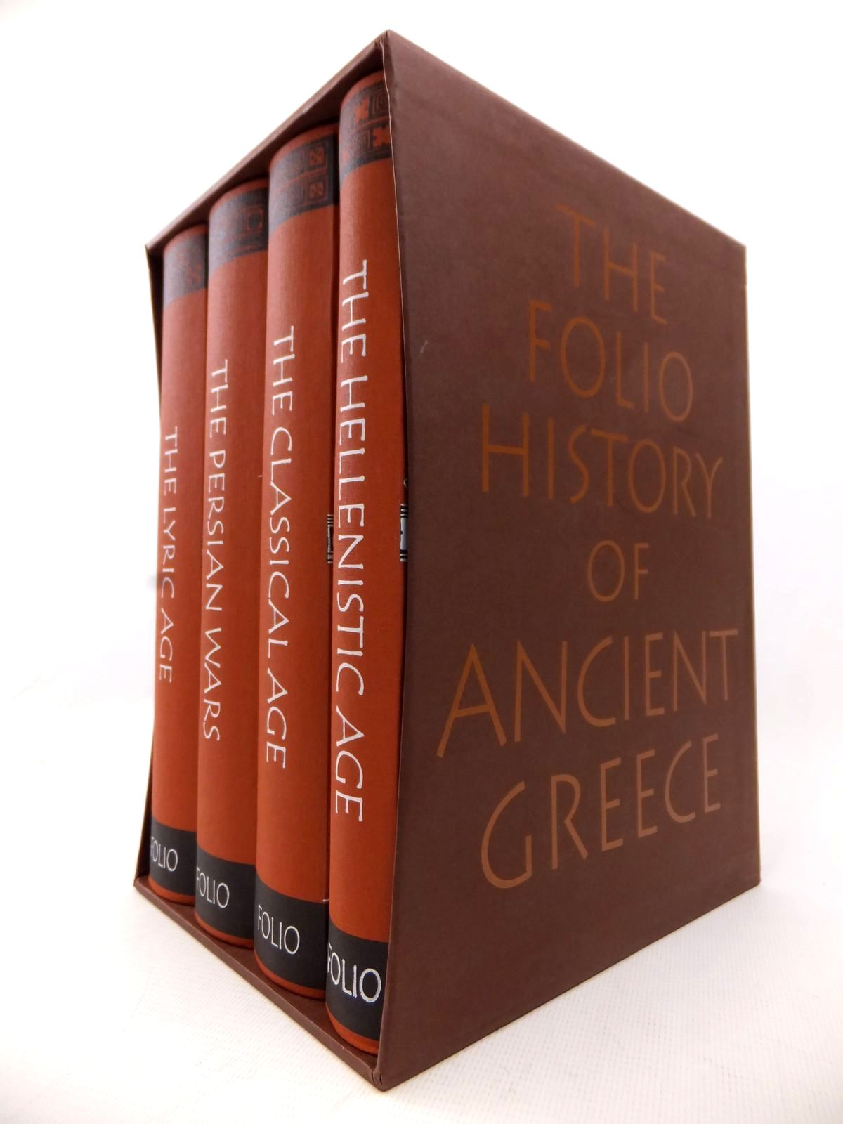 Photo of THE FOLIO HISTORY OF ANCIENT GREECE (4 VOLUMES) published by Folio Society (STOCK CODE: 1813798)  for sale by Stella & Rose's Books