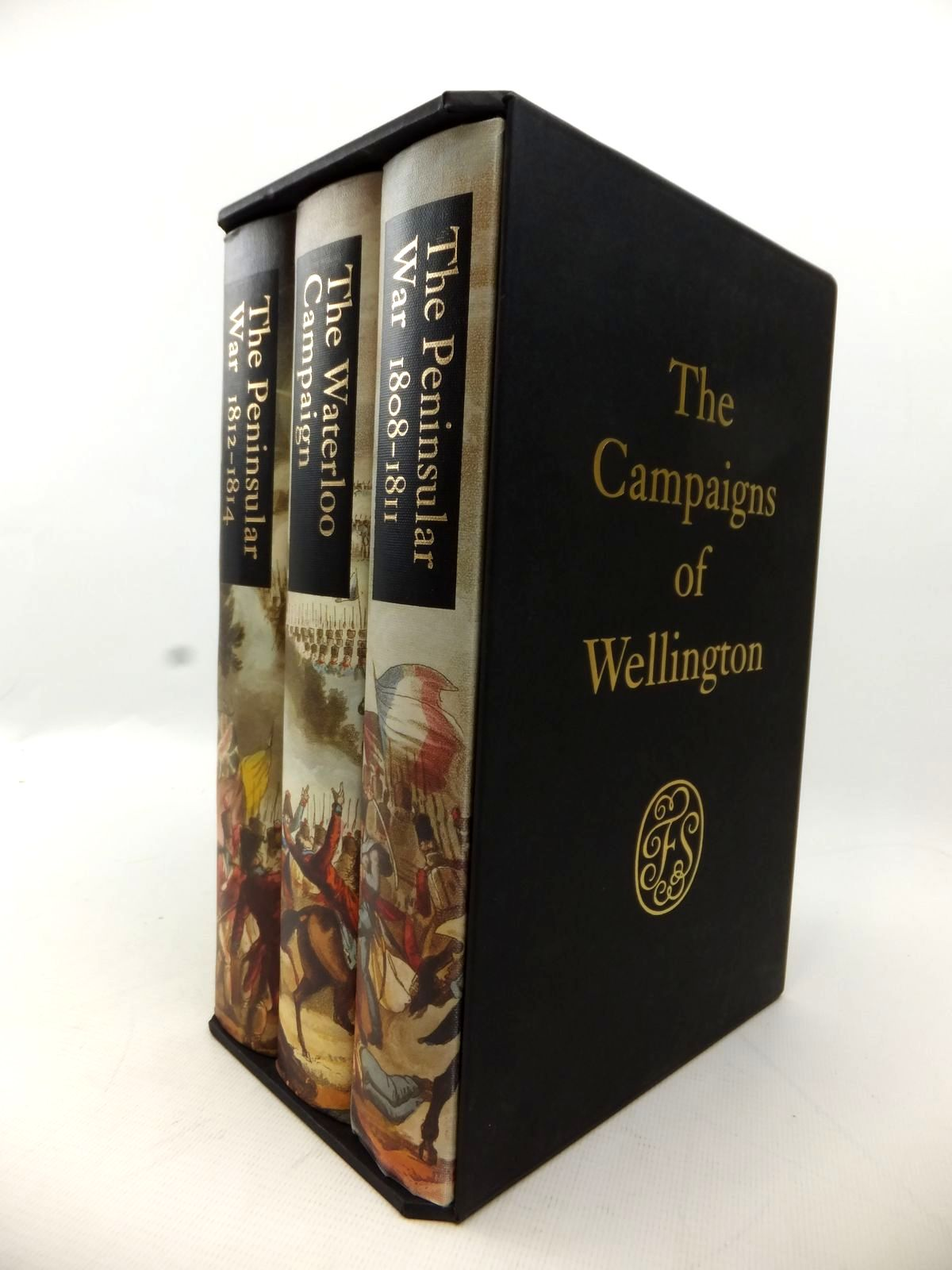 Photo of THE CAMPAIGNS OF WELLINGTON written by Fletcher, Ian published by Folio Society (STOCK CODE: 1813800)  for sale by Stella & Rose's Books