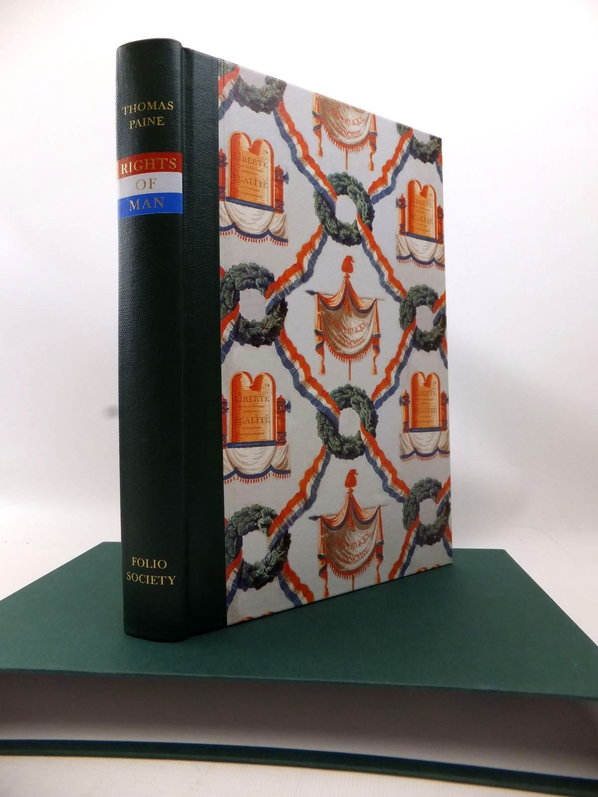Photo of RIGHTS OF MAN written by Paine, Thomas published by Folio Society (STOCK CODE: 1813826)  for sale by Stella & Rose's Books