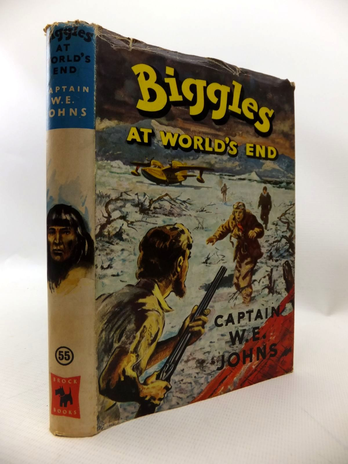 Photo of BIGGLES AT WORLD'S END written by Johns, W.E. illustrated by Stead, Leslie published by Brockhampton Press (STOCK CODE: 1813837)  for sale by Stella & Rose's Books