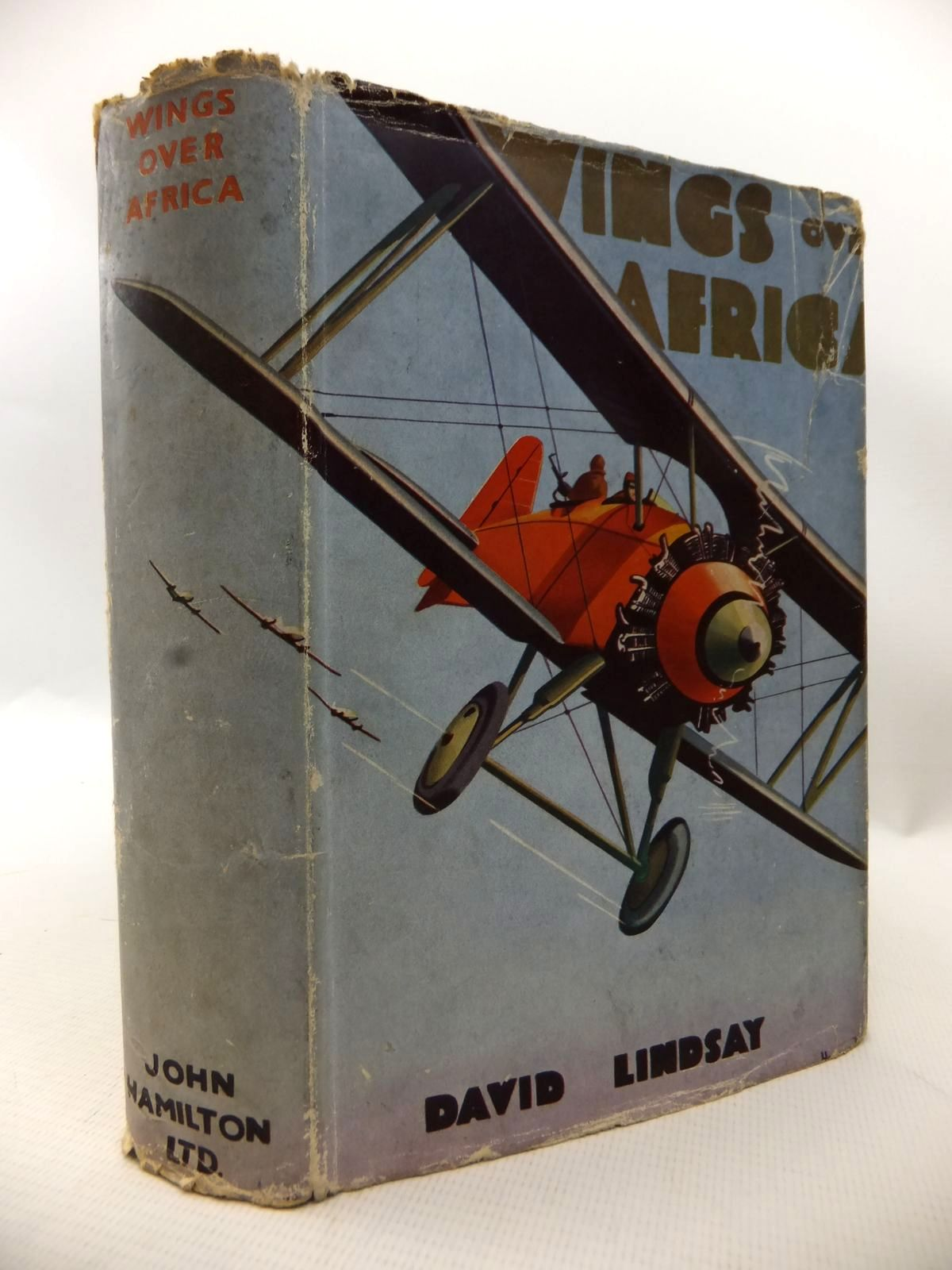Photo of WINGS OVER AFRICA written by Lindsay, David published by John Hamilton Ltd. (STOCK CODE: 1813851)  for sale by Stella & Rose's Books