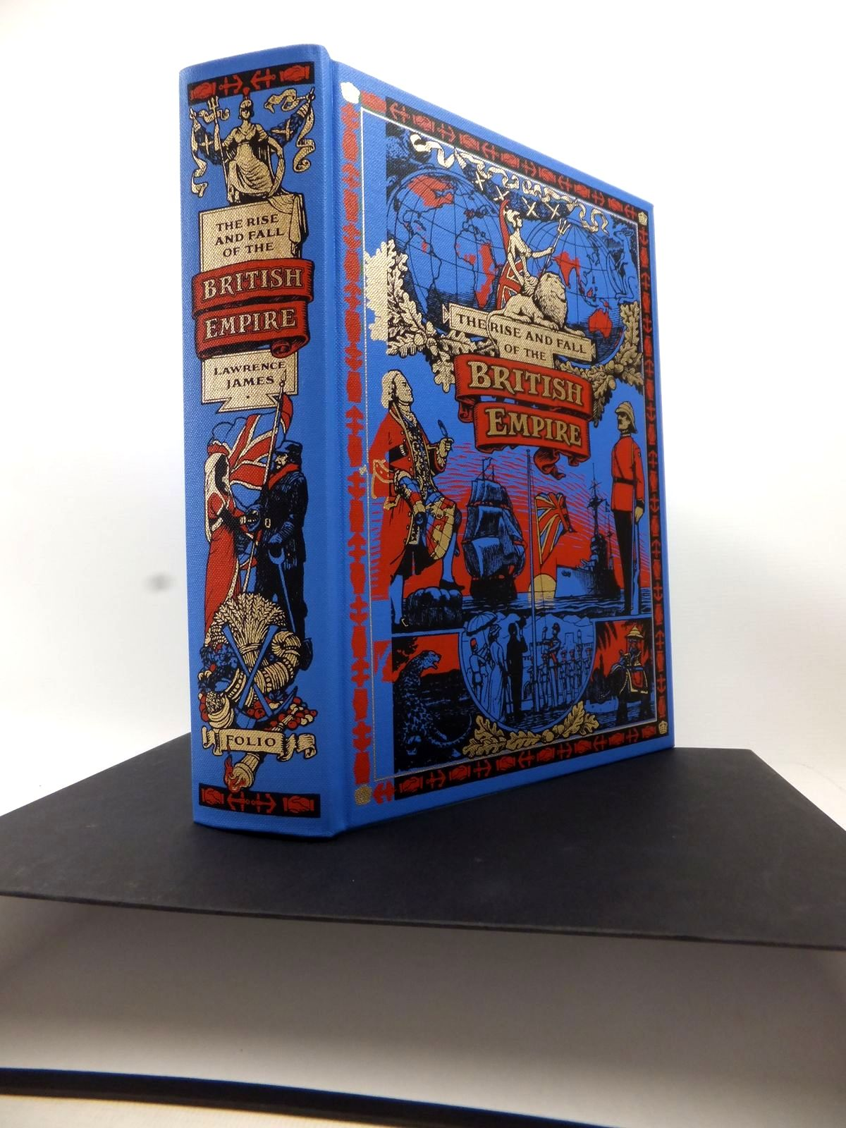 Photo of THE RISE AND FALL OF THE BRITISH EMPIRE written by James, Lawrence published by Folio Society (STOCK CODE: 1813903)  for sale by Stella & Rose's Books
