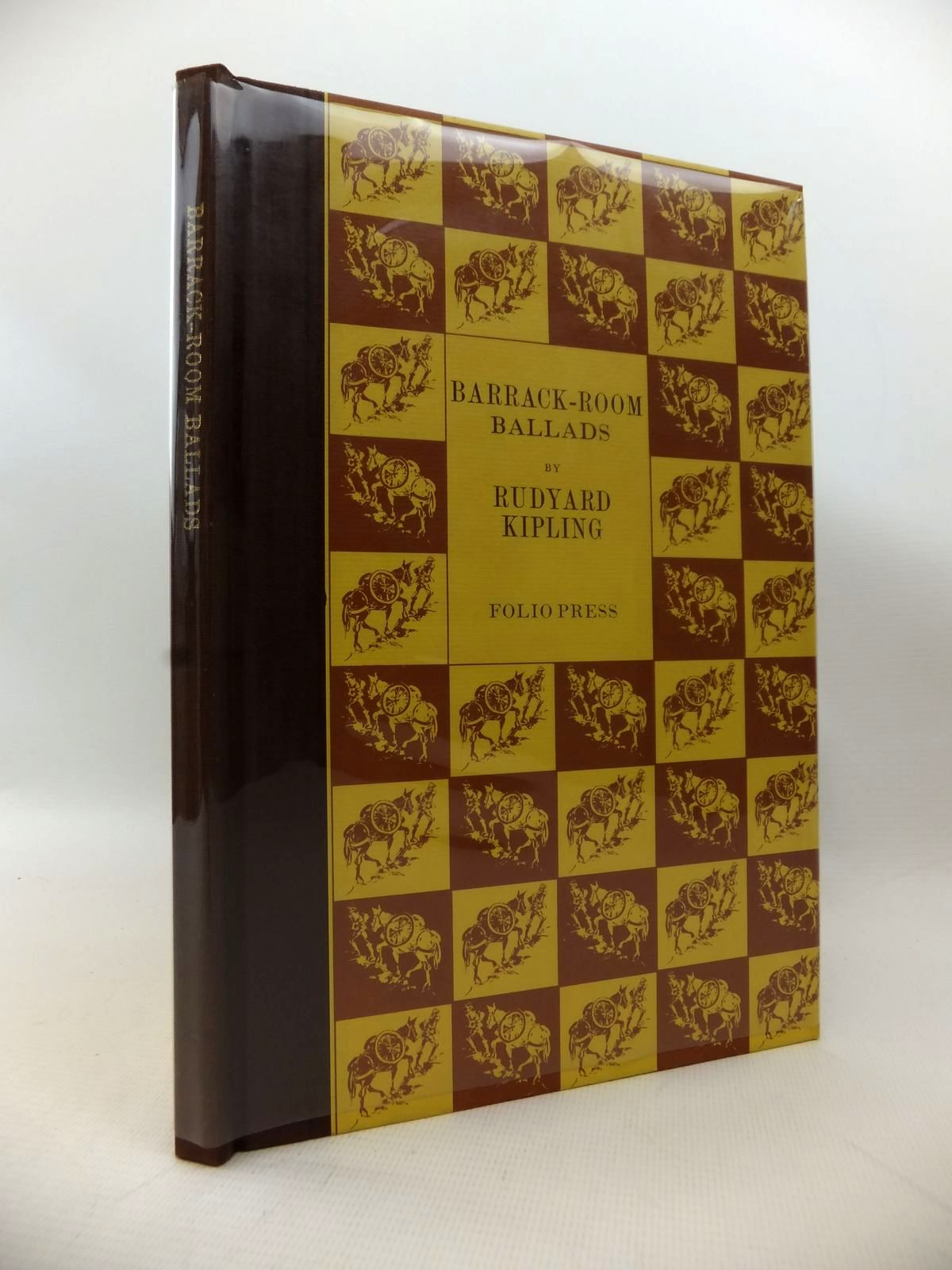 Photo of BARRACK-ROOM BALLADS written by Kipling, Rudyard illustrated by Ribbons, Ian published by Folio Society (STOCK CODE: 1813905)  for sale by Stella & Rose's Books