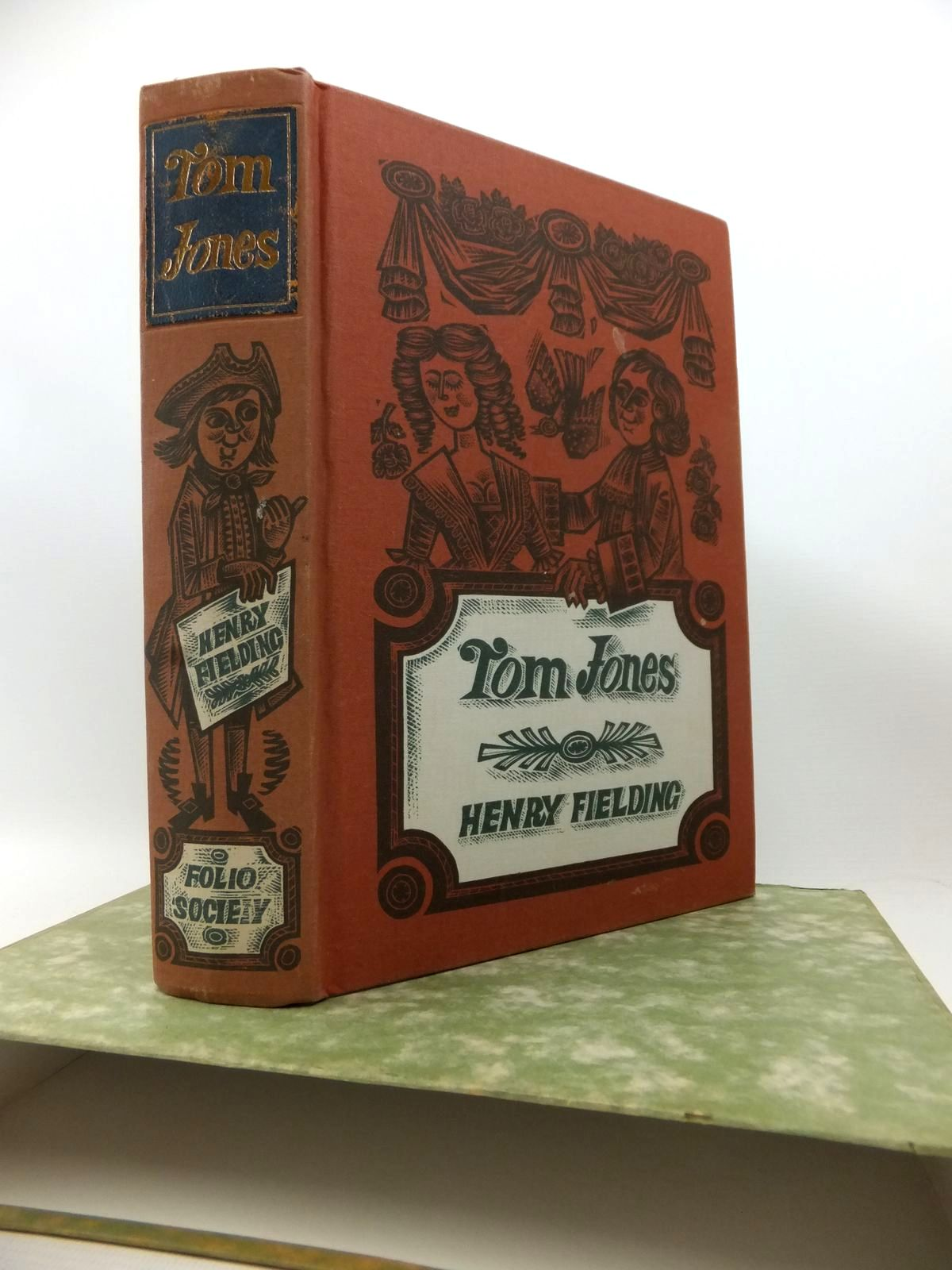 Photo of THE HISTORY OF TOM JONES written by Fielding, Henry illustrated by Harris, Derrick published by Folio Society (STOCK CODE: 1813920)  for sale by Stella & Rose's Books