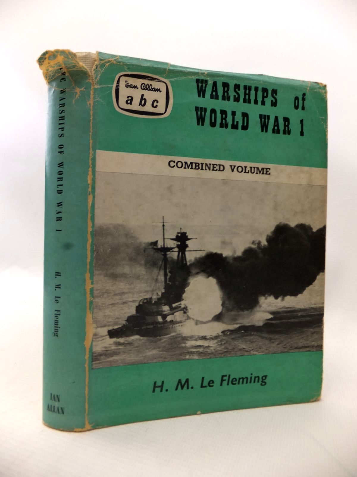 Photo of ABC WARSHIPS OF WORLD WAR I: COMBINED VOLUME written by Le Fleming, H.M. published by Ian Allan (STOCK CODE: 1813942)  for sale by Stella & Rose's Books
