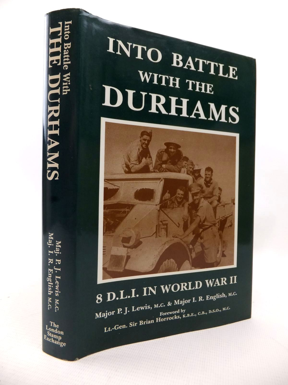 Photo of INTO BATTLE WITH THE DURHAMS written by Lewis, P.J.<br />English, I.R. published by The London Stamp Exchange (STOCK CODE: 1813955)  for sale by Stella & Rose's Books