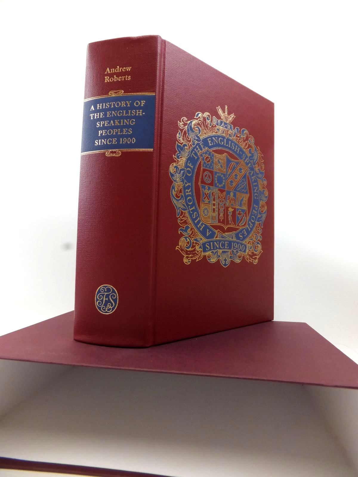 Photo of A HISTORY OF THE ENGLISH SPEAKING PEOPLES written by Roberts, Andrew published by Folio Society (STOCK CODE: 1813972)  for sale by Stella & Rose's Books