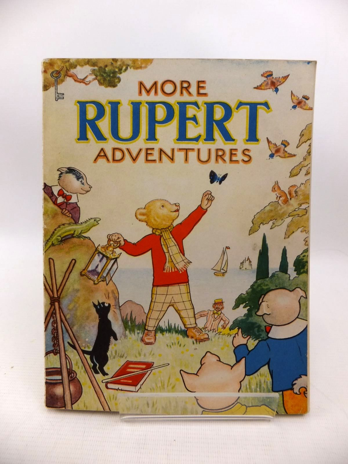 Photo of RUPERT ANNUAL 1943 - MORE RUPERT ADVENTURES written by Bestall, Alfred illustrated by Bestall, Alfred published by Daily Express (STOCK CODE: 1813979)  for sale by Stella & Rose's Books