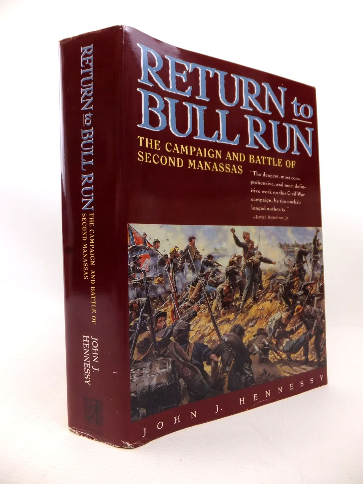 Photo of RETURN TO BULL RUN: THE CAMPAIGN AND BATTLE OF SECOND MANASSAS written by Hennessey, John J. published by Simon & Schuster (STOCK CODE: 1813990)  for sale by Stella & Rose's Books