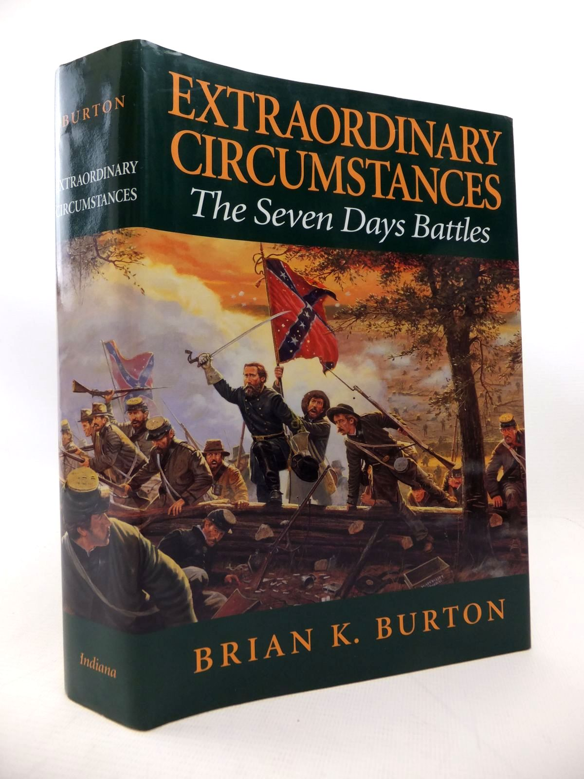 Photo of EXTRAORDINARY CIRCUMSTANCES: THE SEVEN DAYS BATTLES written by Burton, Brian K. published by Indiana University Press (STOCK CODE: 1813991)  for sale by Stella & Rose's Books