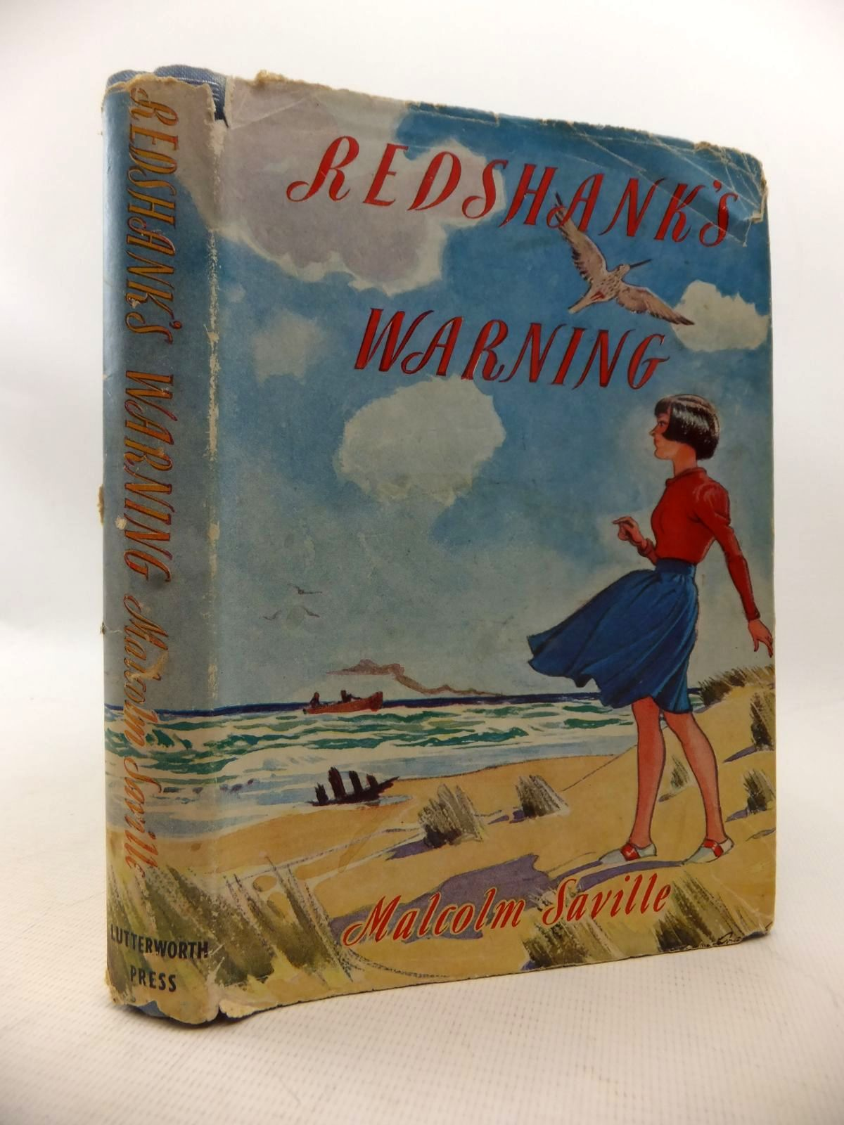 Photo of REDSHANK'S WARNING written by Saville, Malcolm illustrated by Roberts, Lunt published by Lutterworth Press (STOCK CODE: 1814006)  for sale by Stella & Rose's Books