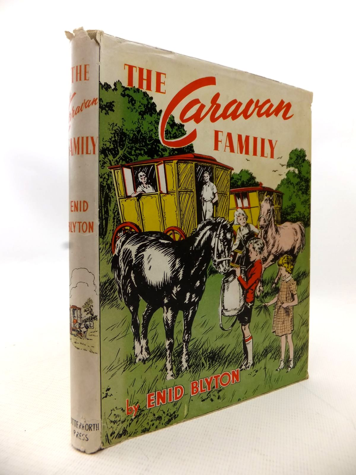 Photo of THE CARAVAN FAMILY written by Blyton, Enid illustrated by Fyffe, William published by Lutterworth Press (STOCK CODE: 1814009)  for sale by Stella & Rose's Books