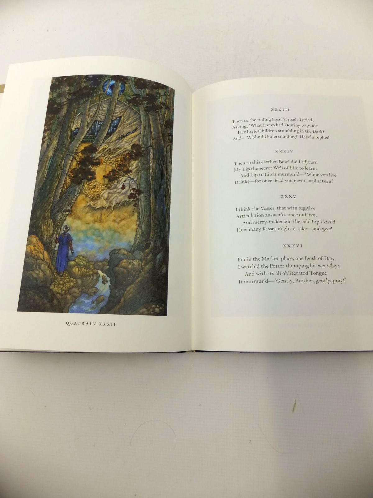 Photo of RUBAIYAT OF OMAR KHAYYAM written by Khayyam, Omar<br />Fitzgerald, Edward<br />Byatt, A.S. illustrated by Puttapipat, Niroot<br />Raw, Stephen published by Folio Society (STOCK CODE: 1814013)  for sale by Stella & Rose's Books