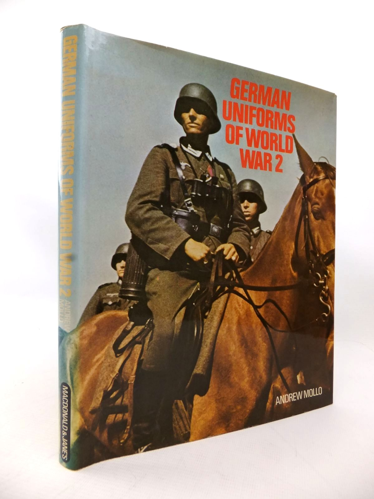 Photo of GERMAN UNIFORMS OF WORLD WAR 2 written by Mollo, Andrew published by Macdonald and Jane's (STOCK CODE: 1814032)  for sale by Stella & Rose's Books