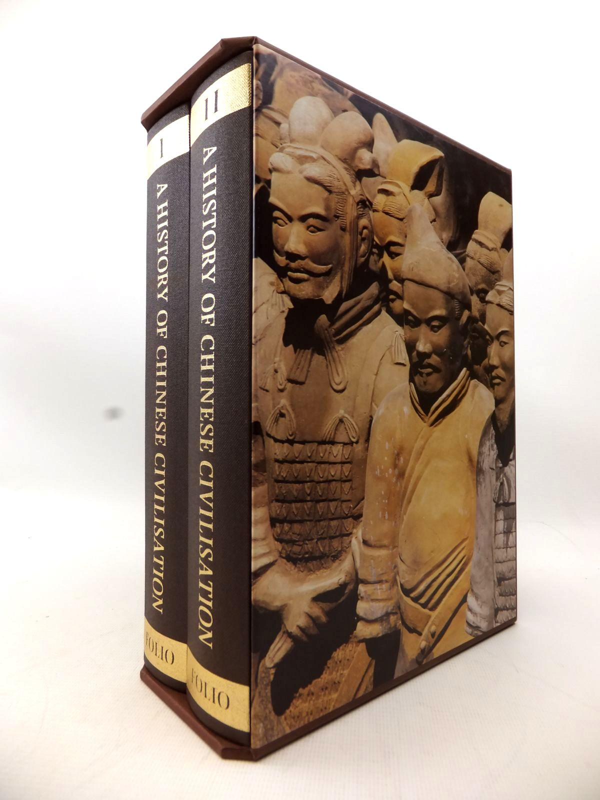 Photo of A HISTORY OF CHINESE CIVILISATION (2 VOLUMES) written by Gernet, Jacques published by Folio Society (STOCK CODE: 1814042)  for sale by Stella & Rose's Books