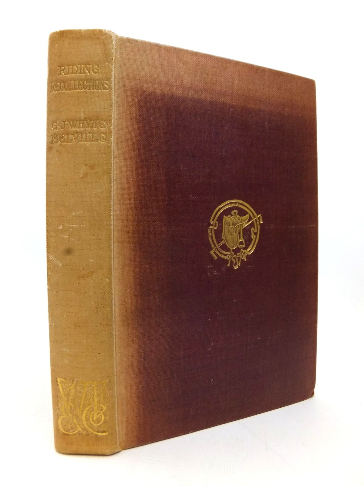 Photo of RIDING RECOLLECTIONS written by Whyte-Melville, G.J. illustrated by Thomson, Hugh published by W. Thacker & Co. (STOCK CODE: 1814090)  for sale by Stella & Rose's Books