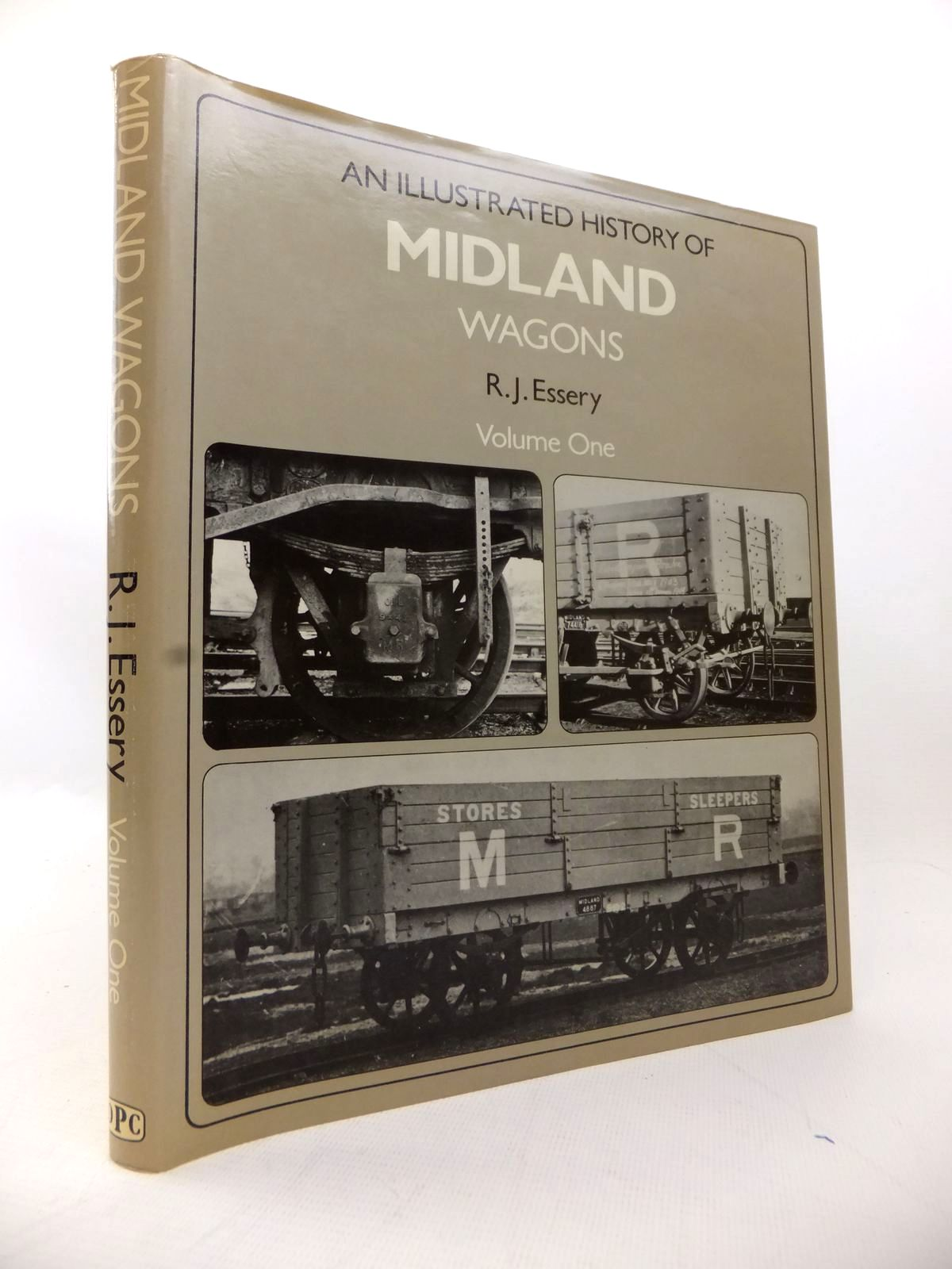 Photo of AN ILLUSTRATED HISTORY OF MIDLAND WAGONS VOLUME ONE written by Essery, R.J. published by Oxford Publishing (STOCK CODE: 1814093)  for sale by Stella & Rose's Books