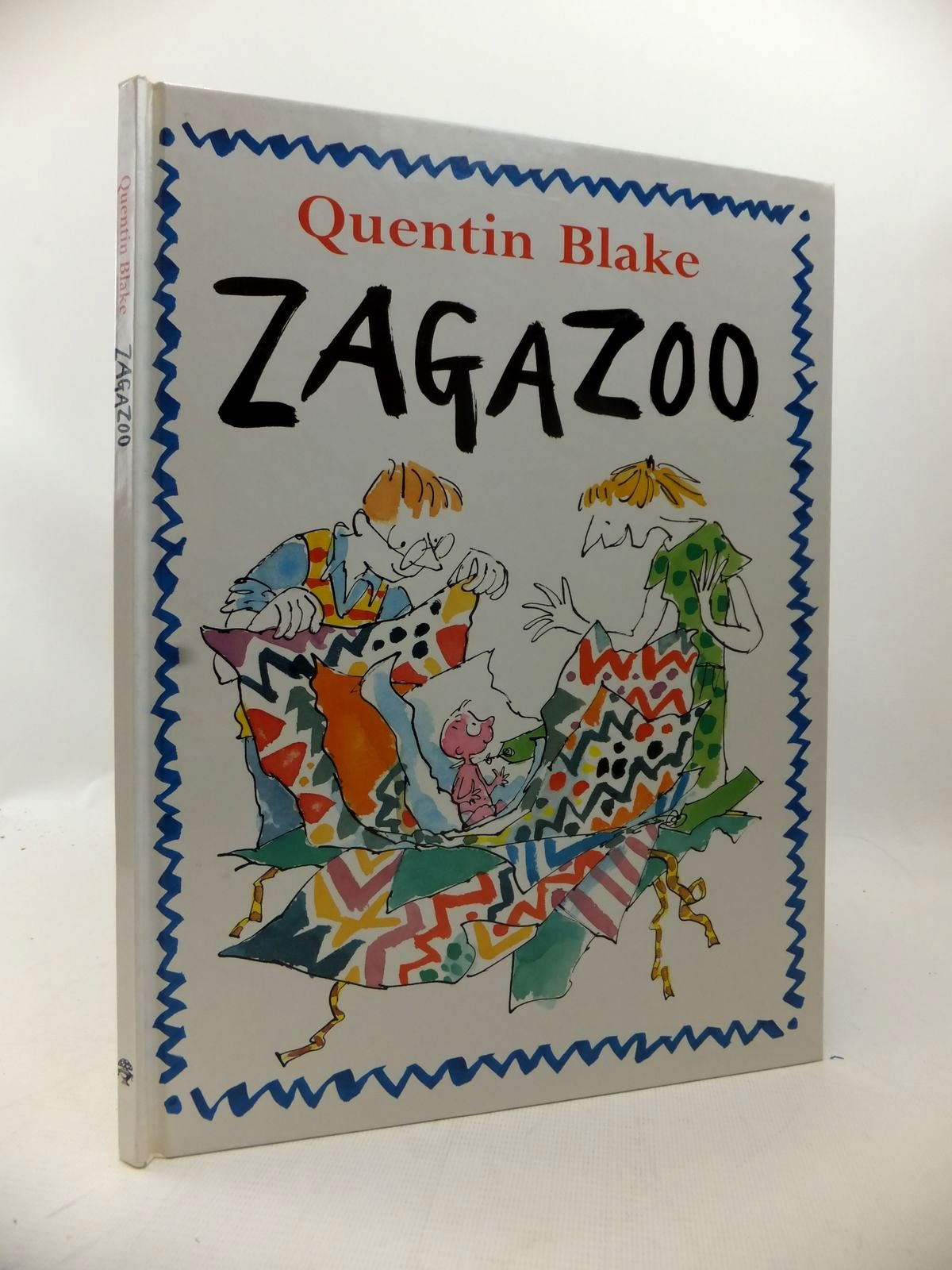 Photo of ZAGAZOO written by Blake, Quentin illustrated by Blake, Quentin published by Jonathan Cape (STOCK CODE: 1814104)  for sale by Stella & Rose's Books